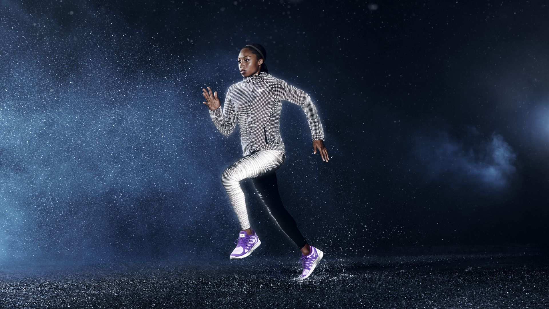 Wallpaper Allyson Felix, nike, weight loss, running ...