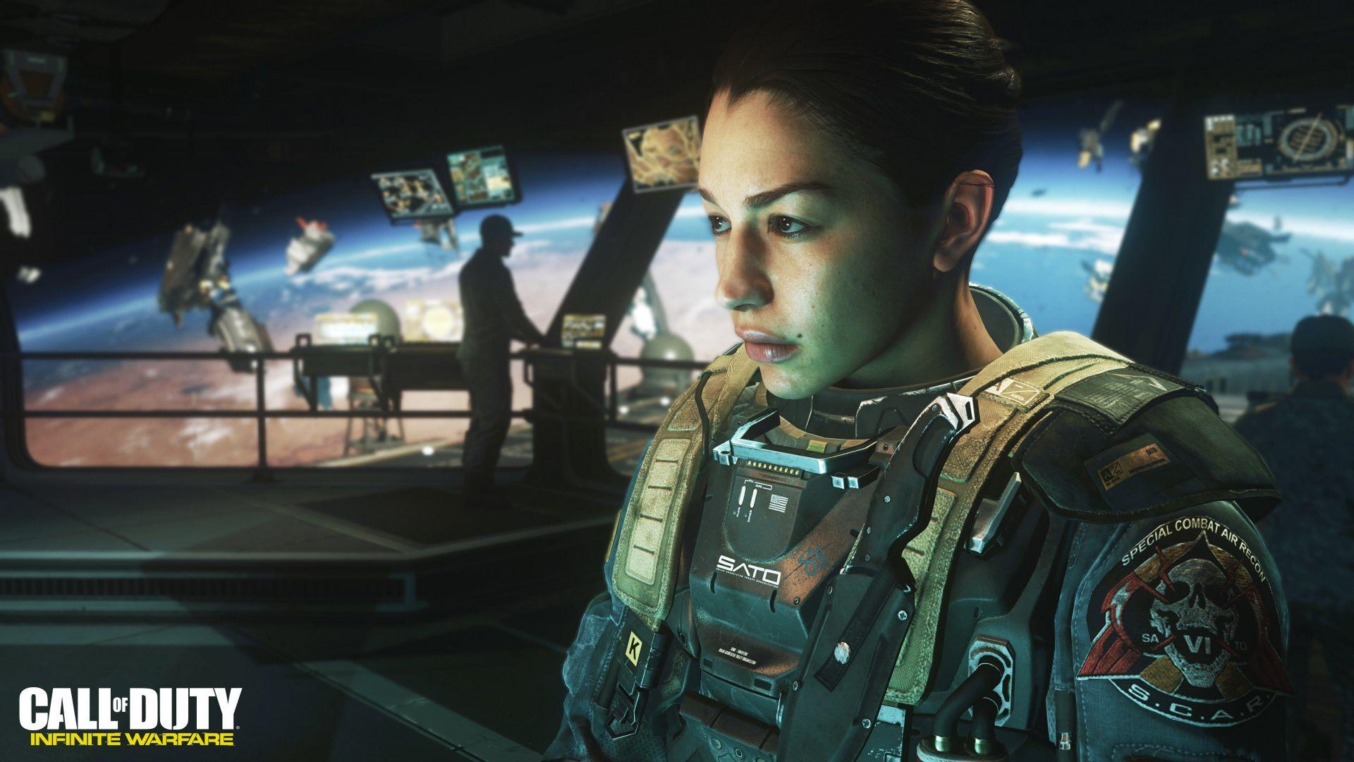 Wallpaper Call Of Duty Infinite Warfare Shooter Pc Ps 4 Xbox