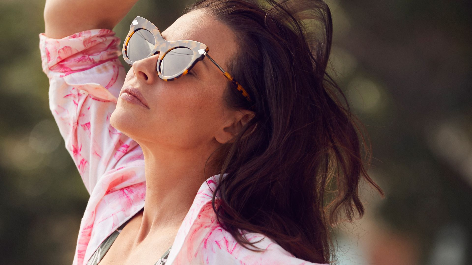 Wallpaper Evangeline Lilly, Nicole Evangeline Lilly ... Rosie Huntington Whiteley Lips