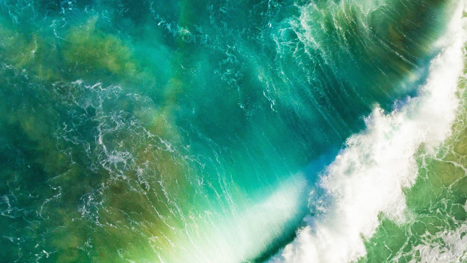 Apple, iOS 10, 4k, 5k, iphone wallpaper, live wallpaper, live photo, wave, macOS Sierra (horizontal)