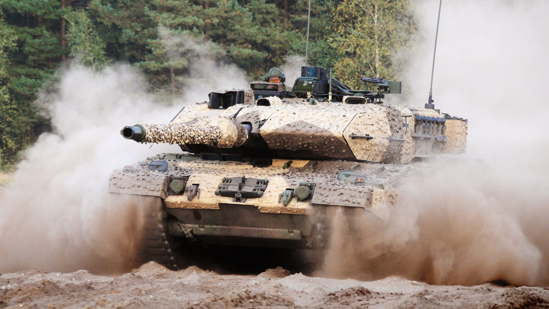 Leopard 2A7, tank, German Army (horizontal)