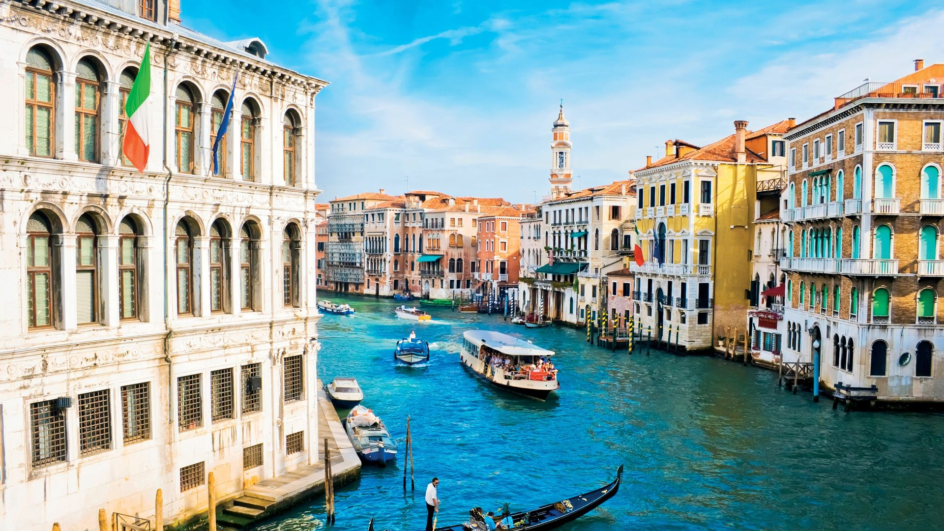 Grand Canal, Venice, Italy, travel, tourism (horizontal)