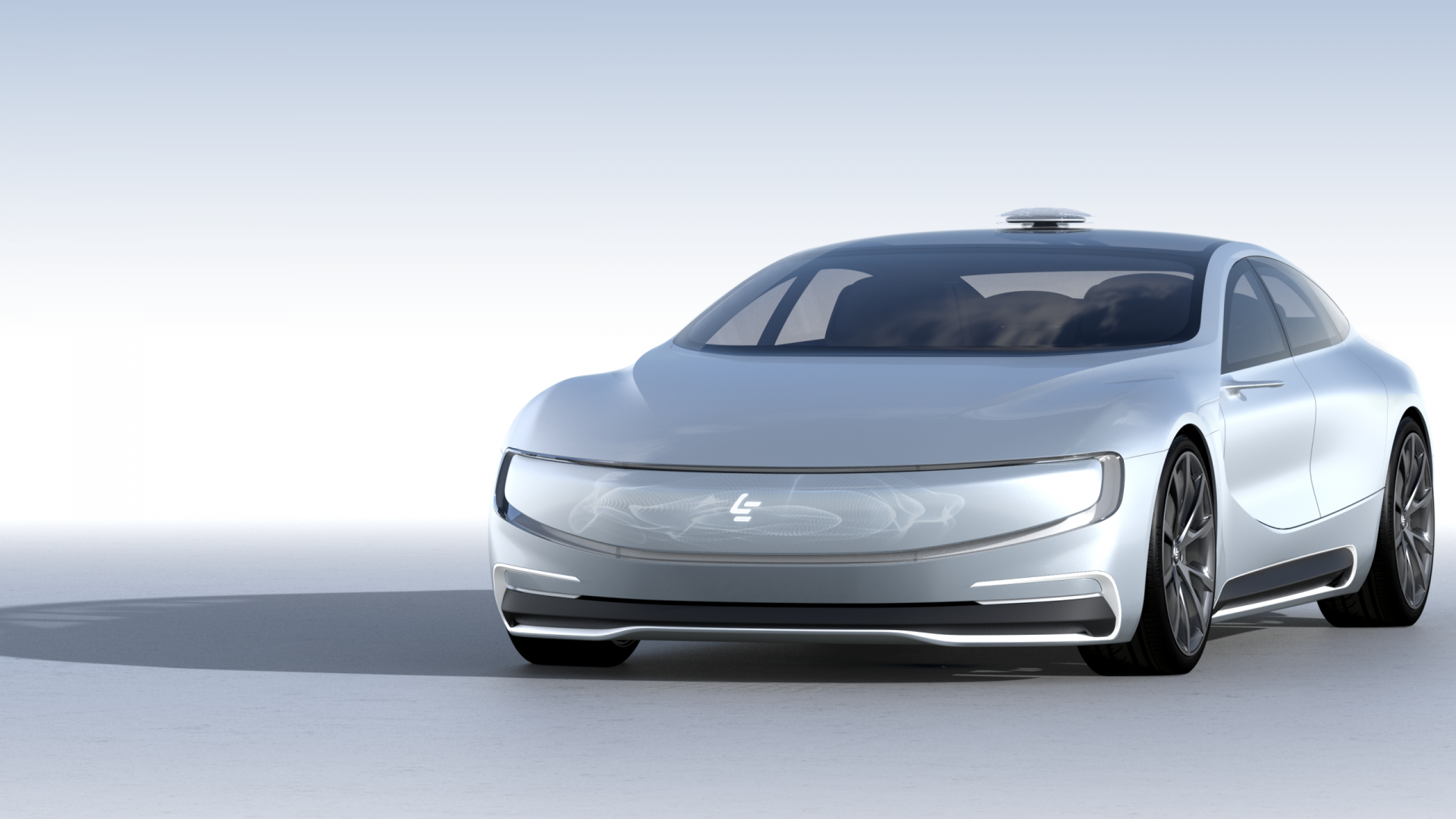 LeEco LeSEE Pro, electric car, self driving car (horizontal)