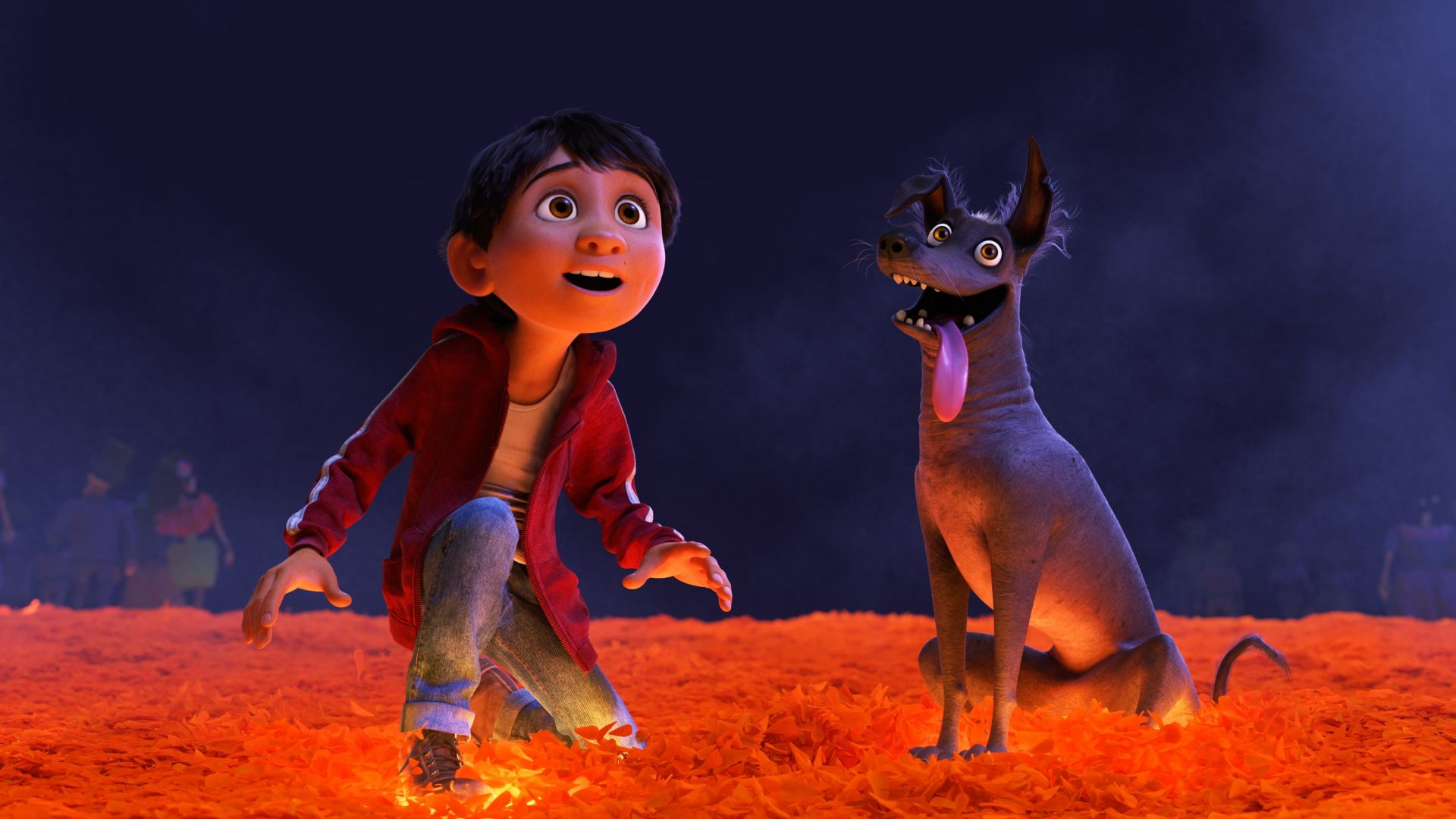 Coco, dog, best animation movies (horizontal)