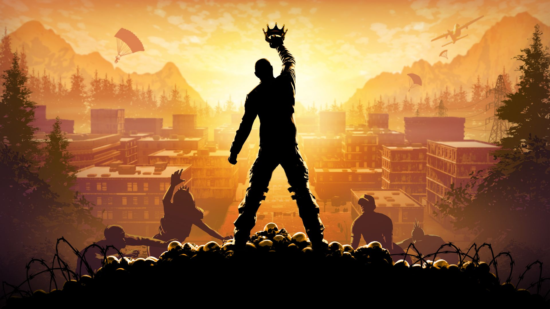 H1Z1, King of the Kill, FPS, shooter, PC (horizontal)
