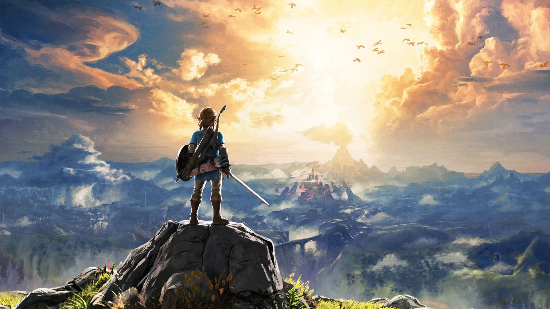 The Legend of Zelda: Breath of the Wild, best games, monster, Wii U, NX (horizontal)