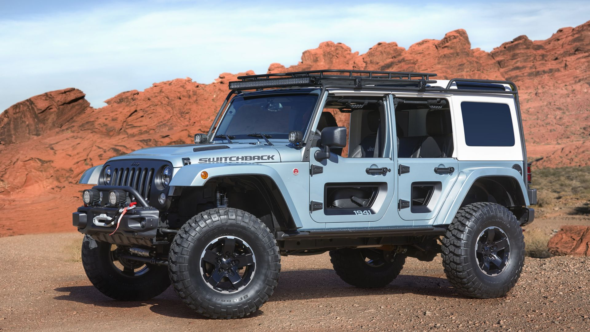 Jeep Switchback, Jeep Wrangler, SUV, concept (horizontal)