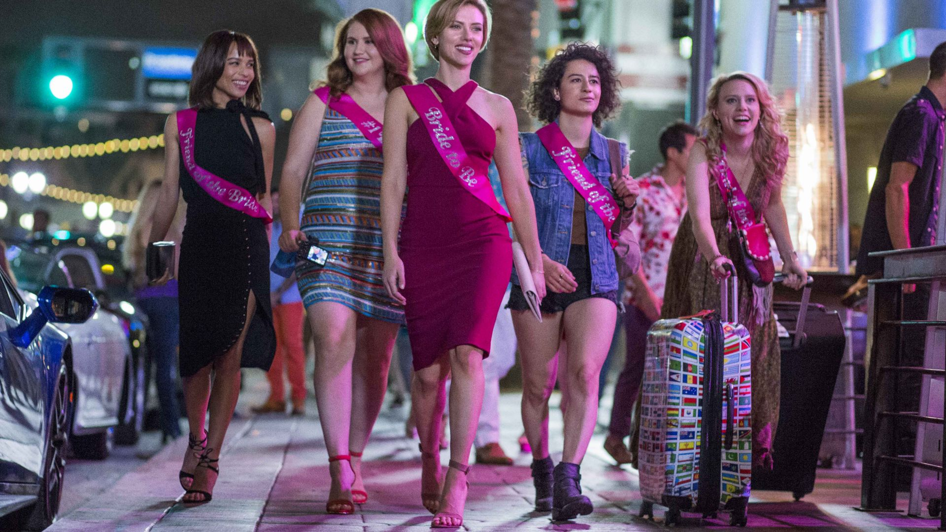 Rough Night, Scarlett Johansson, black comedy