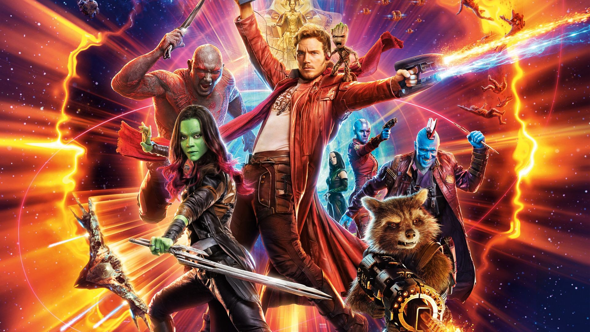 Guardians of the Galaxy Vol. 2, Star-Lord, Gamora, Drax, Rocket, Yondu Udonta, best movies