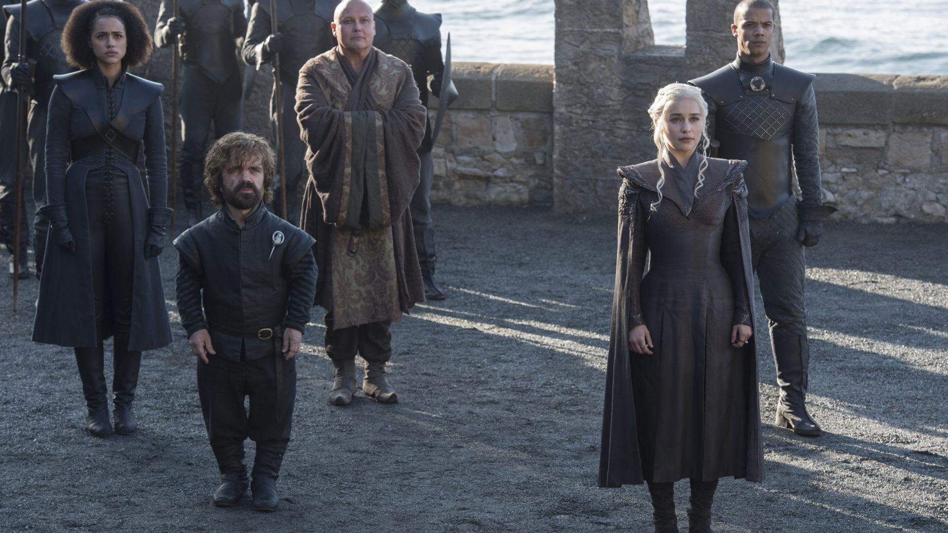 Game of Thrones, Emilia Clarke, Peter Dinklage, season 7, best tv series (horizontal)