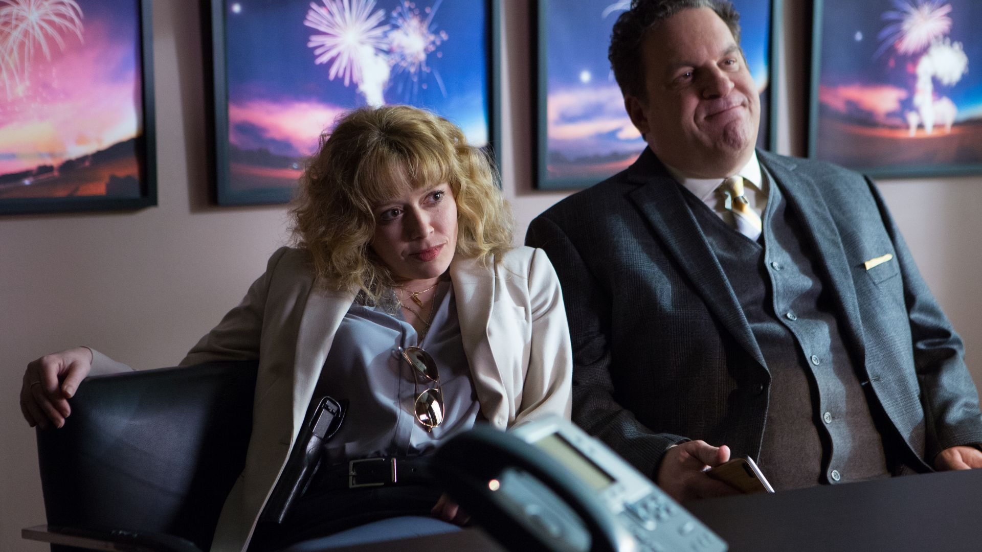 Handsome: A Netflix Mystery Movie, Kaley Cuoco, Jeff Garlin, best comedies (horizontal)