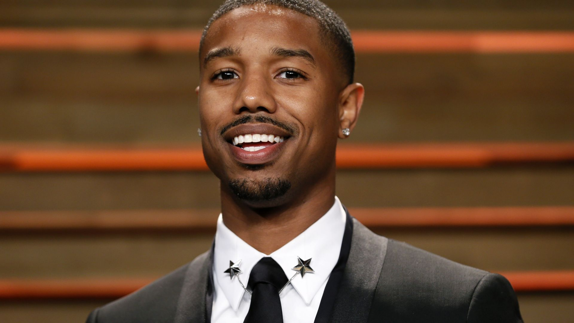 Michael B. Jordan, 4k, photo (horizontal)