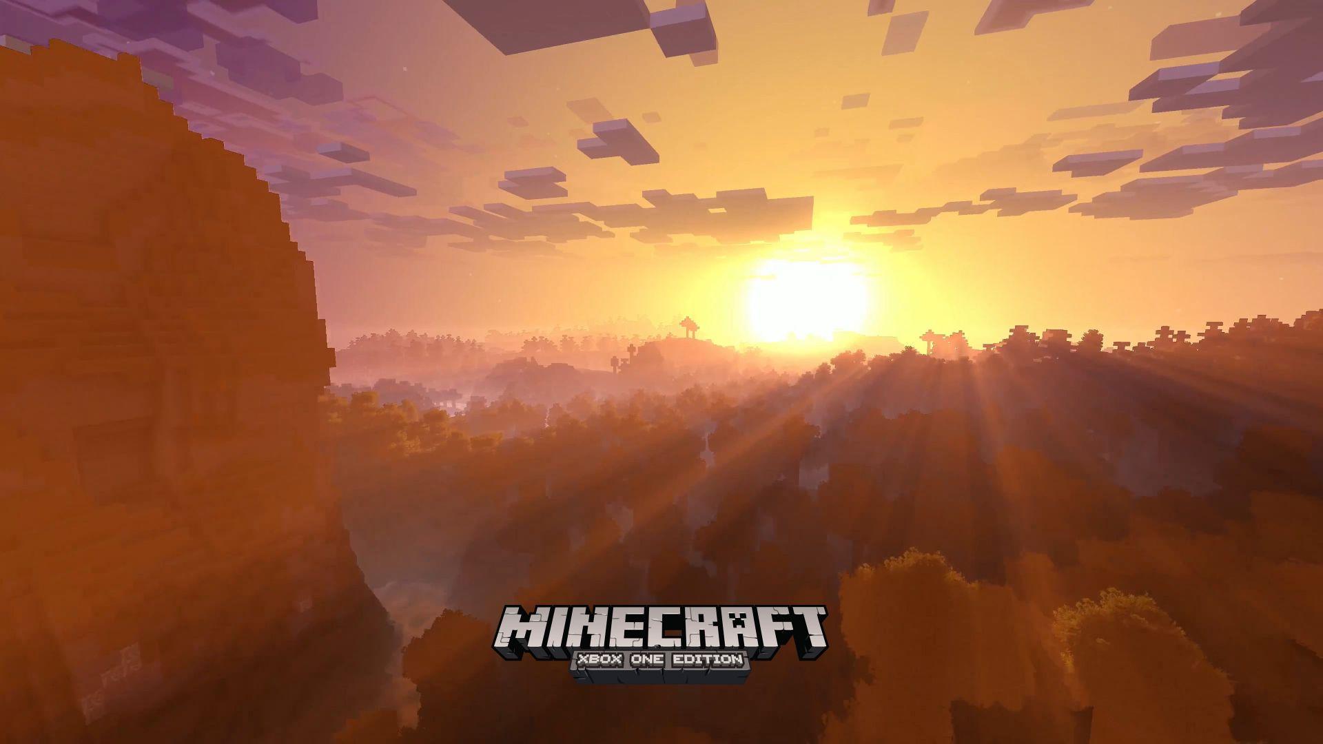 Wallpaper Minecraft 4k edition, E3 2017, xBox One X ...