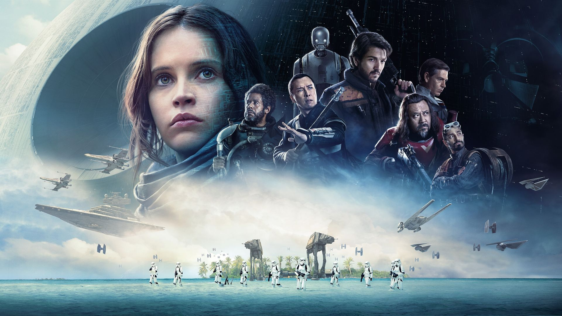 Rogue One: A Star Wars Story, Felicity Jones, 12k (horizontal)