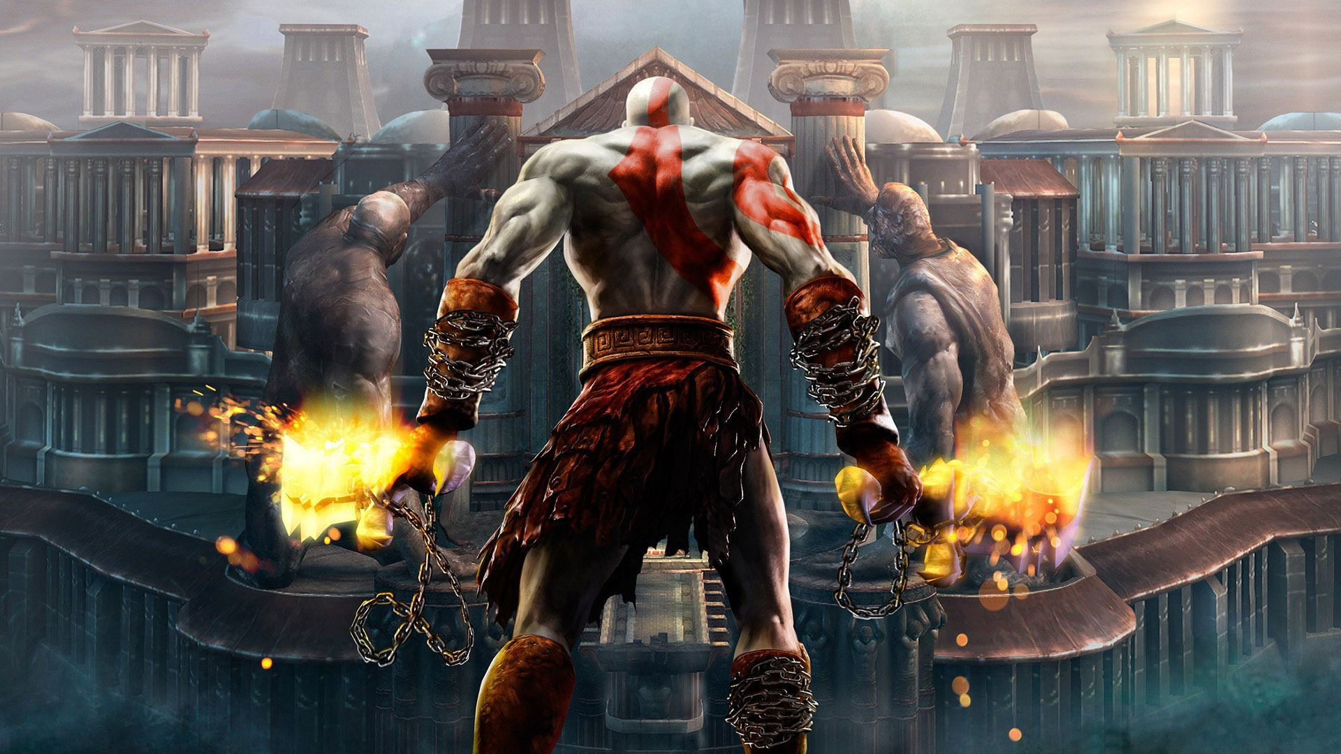 Wallpaper god of war 4k e3 2017 screenshot games - 4k wallpaper of god ...