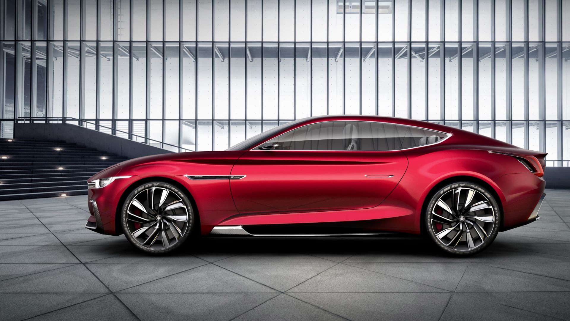 Wallpaper MG E-Motion, Electric Cars, 2020 Cars, 6k, Cars