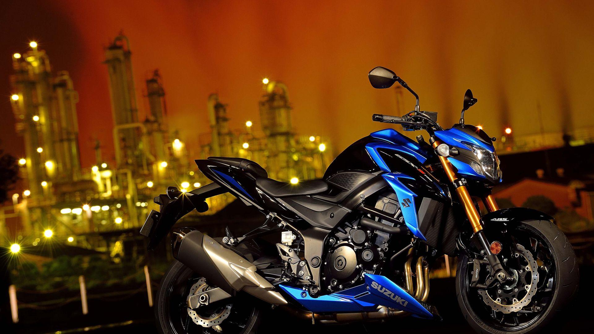Wallpaper Suzuki GSX-S750, 2018 Bikes, 4k, Cars & Bikes