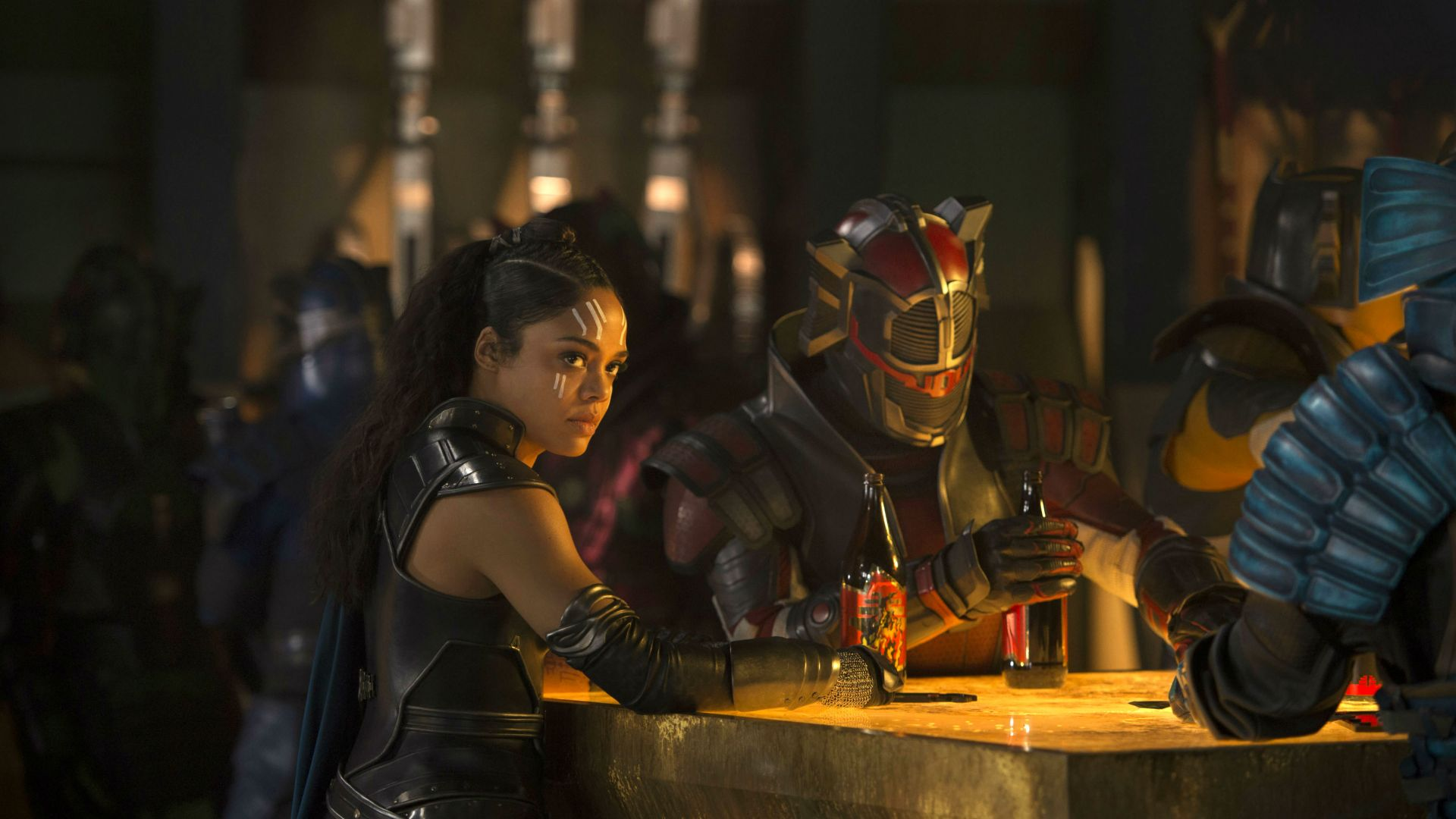 Wallpaper Thor: Ragnarok, Tessa Thompson, 4k, Movies #15397 - 웹