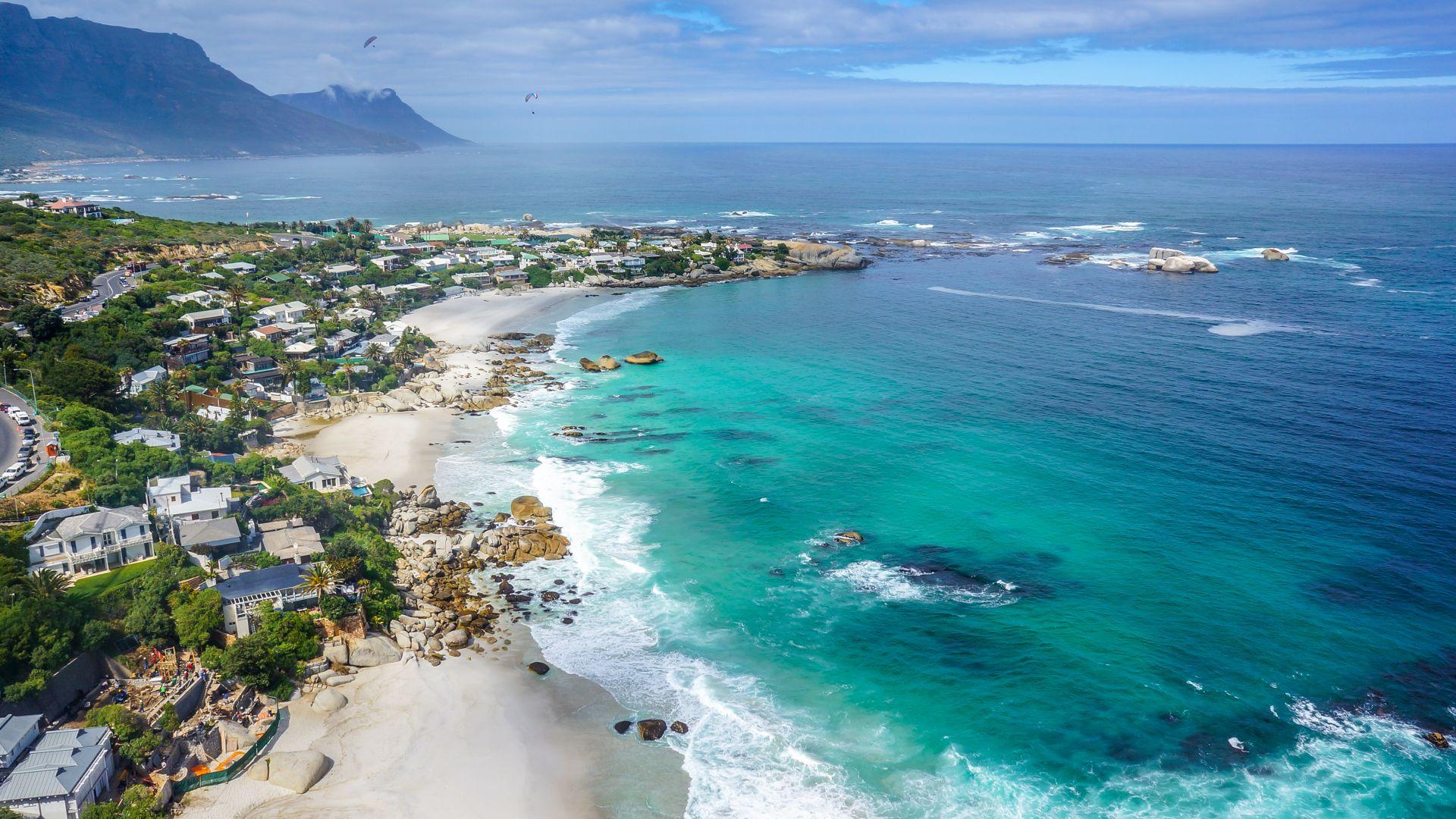 Wallpaper Cape Town Clifton Beachs Ocean 4k Nature 16629