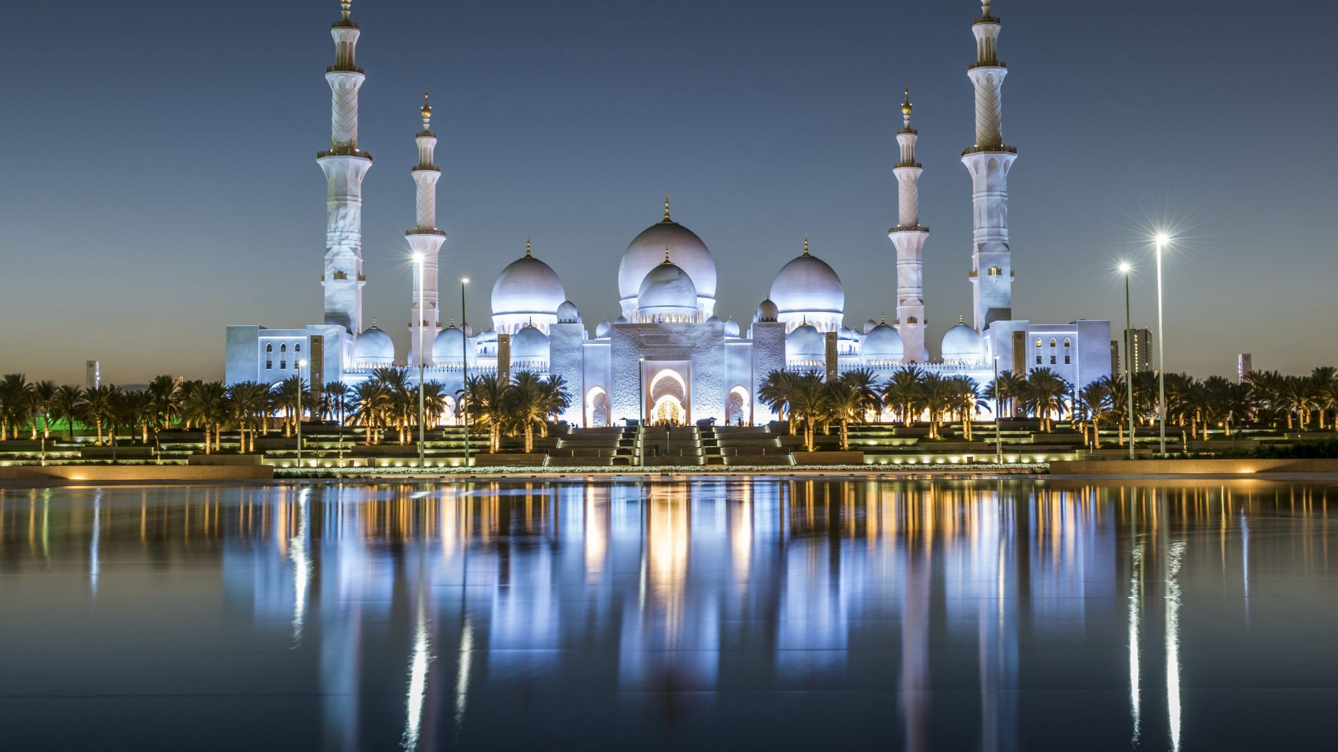 Wallpaper sheikh zayed mosque abu dhabi 4k architecture for Architecture 4k wallpaper