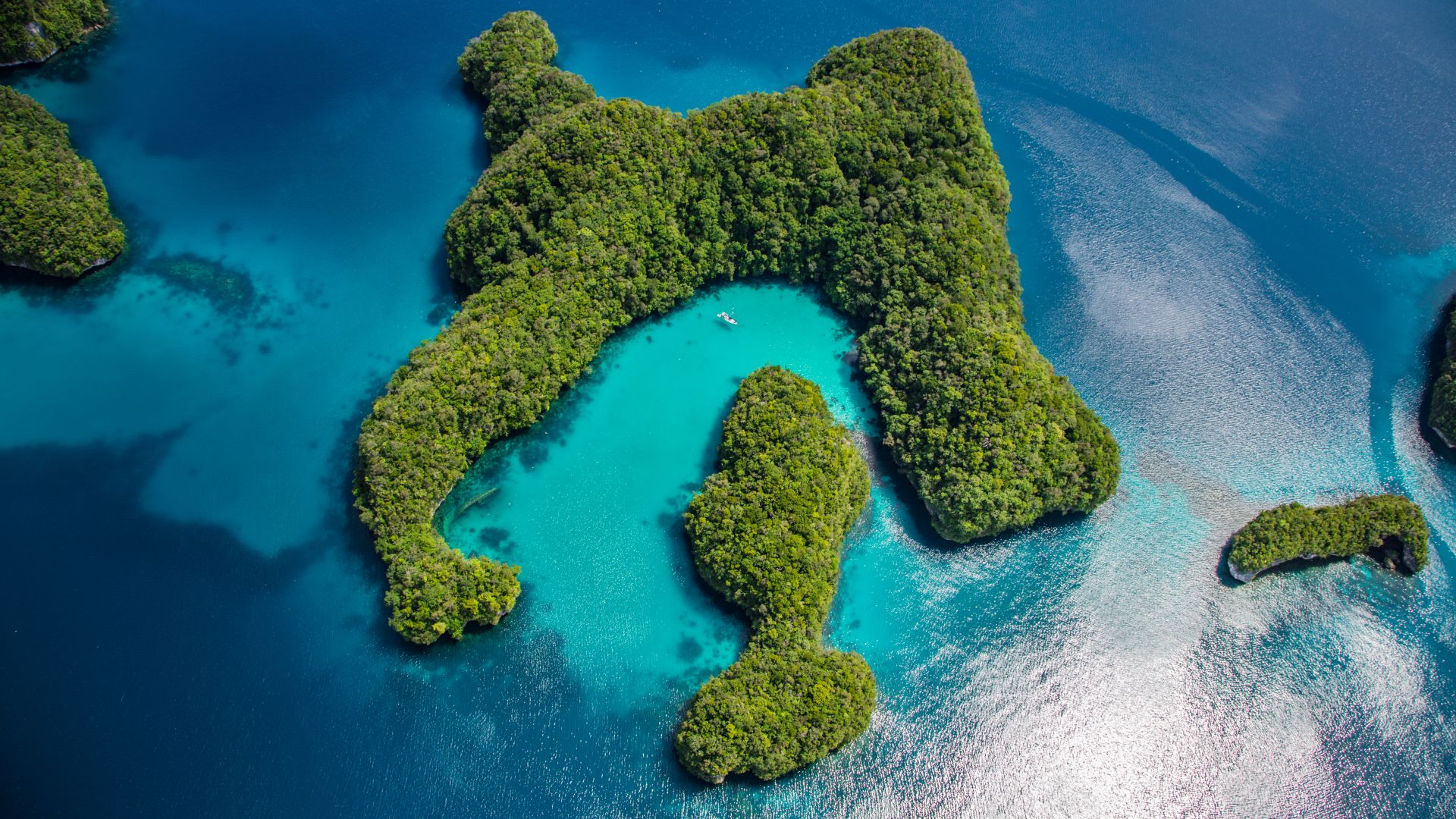 Wallpaper palau philippines ocean islands 8k nature for Wallpaper home philippines