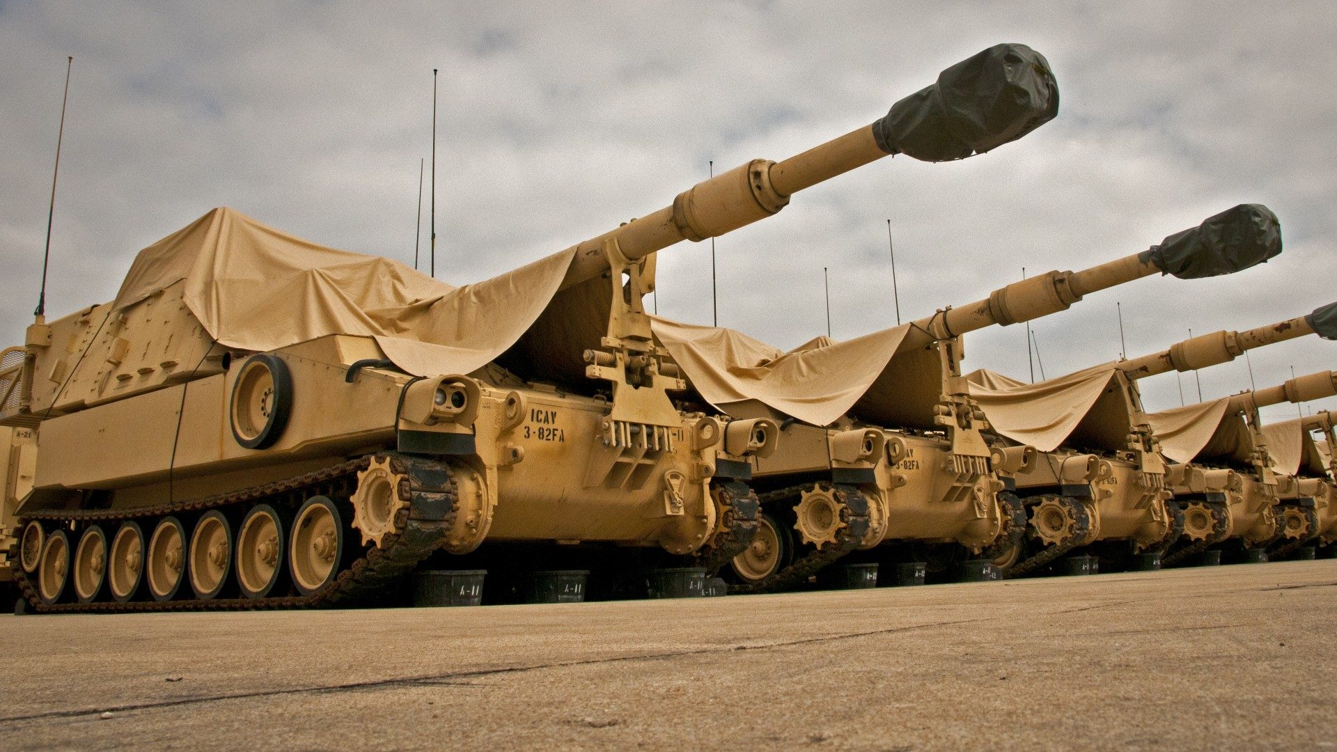 Wallpaper M109A6, howitzer, artillery, Paladin, U.S. Army, vehicle, Military #1674