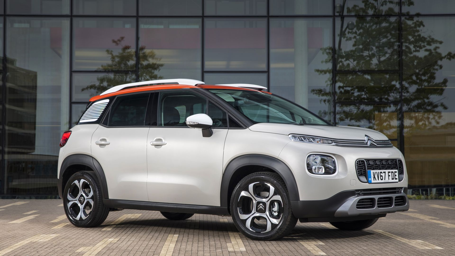 wallpaper citroen c3 aircross 2018 cars 4k cars bikes 16954. Black Bedroom Furniture Sets. Home Design Ideas