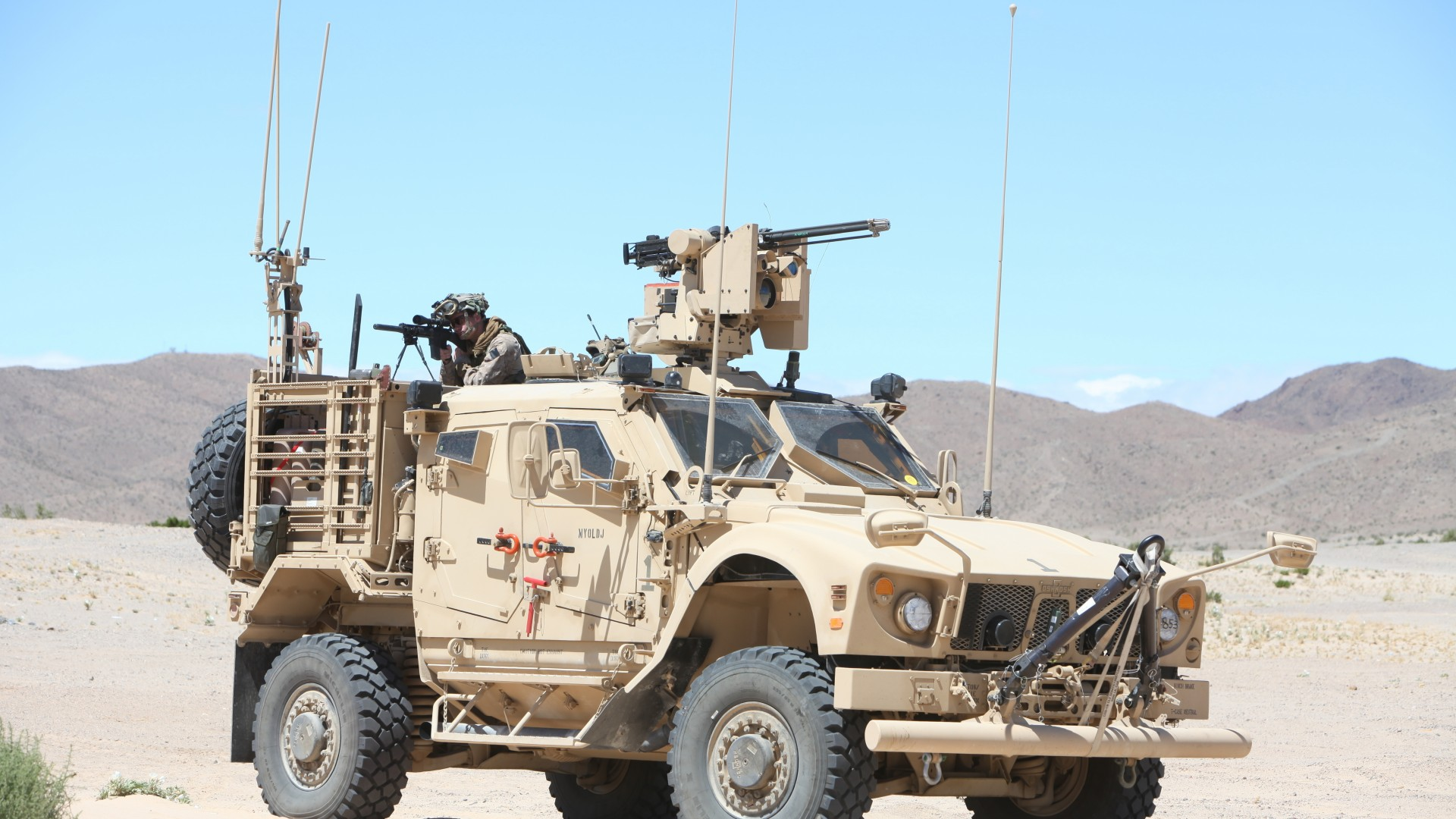 Wallpaper M-ATV, Oshkosh, MRAP, TerraMax, SXF, infantry ...