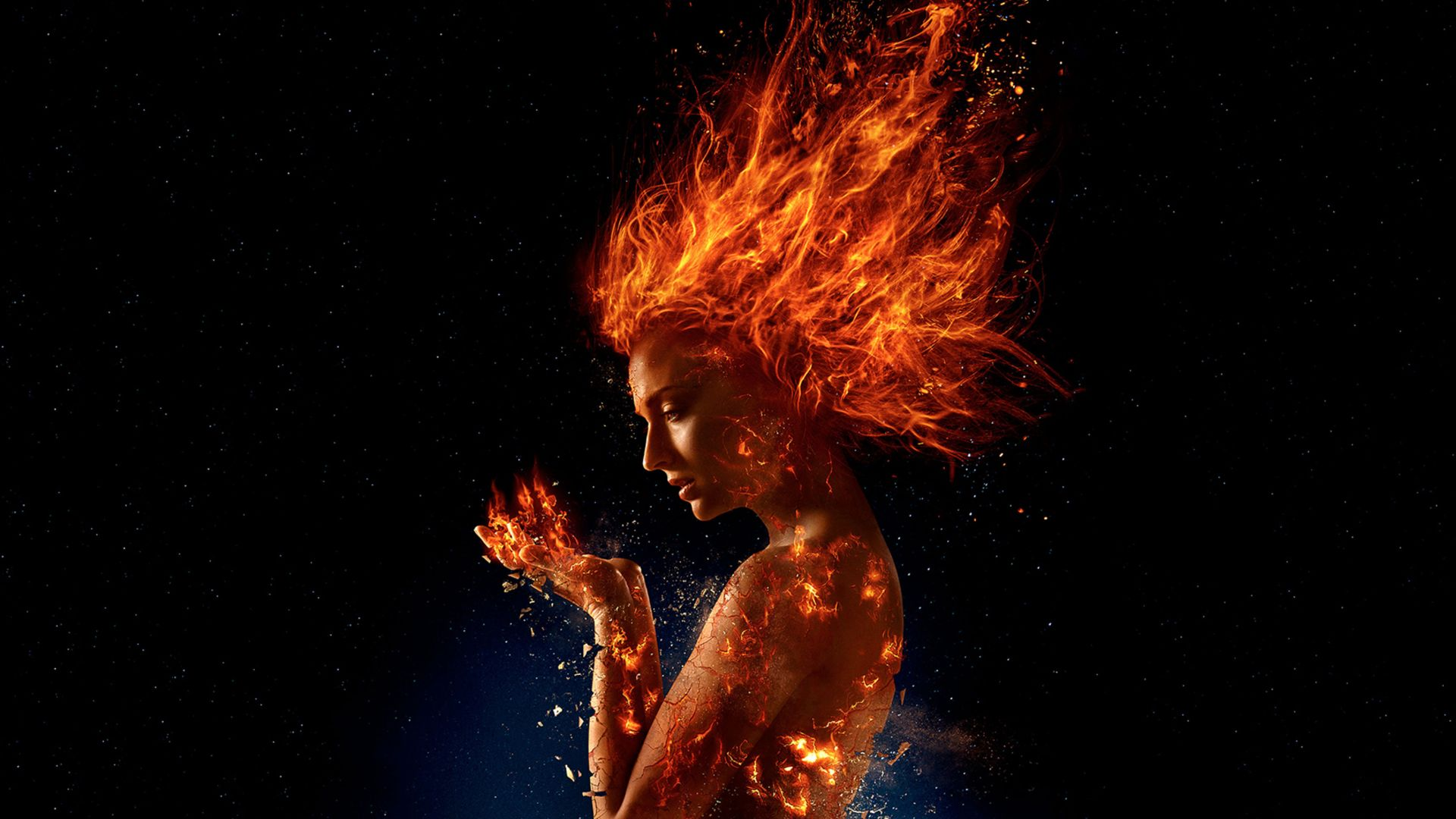 X-Men: Dark Phoenix, Sophie Turner, 4k (horizontal)