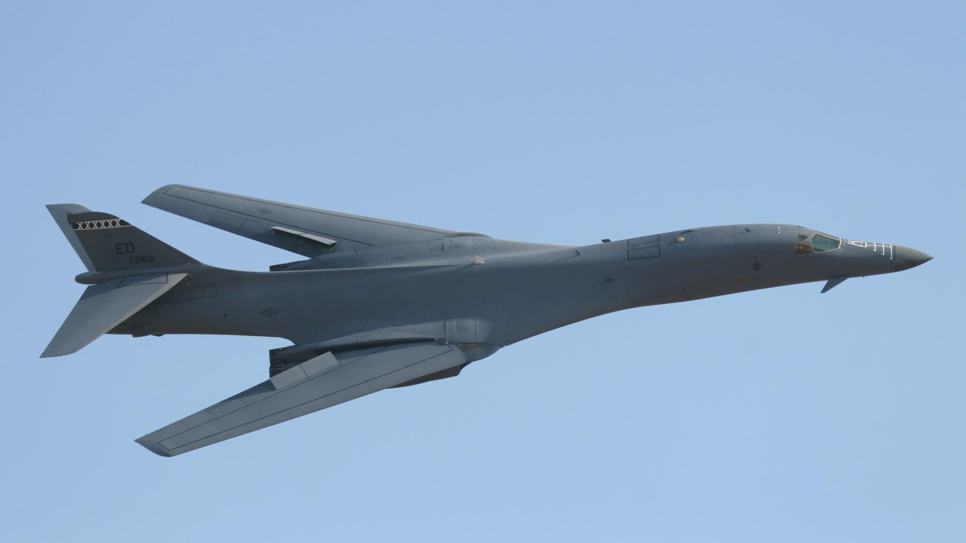 Wallpaper B-1, Lancer, supersonic, strategic bomber ... B1 Lancer Supersonic