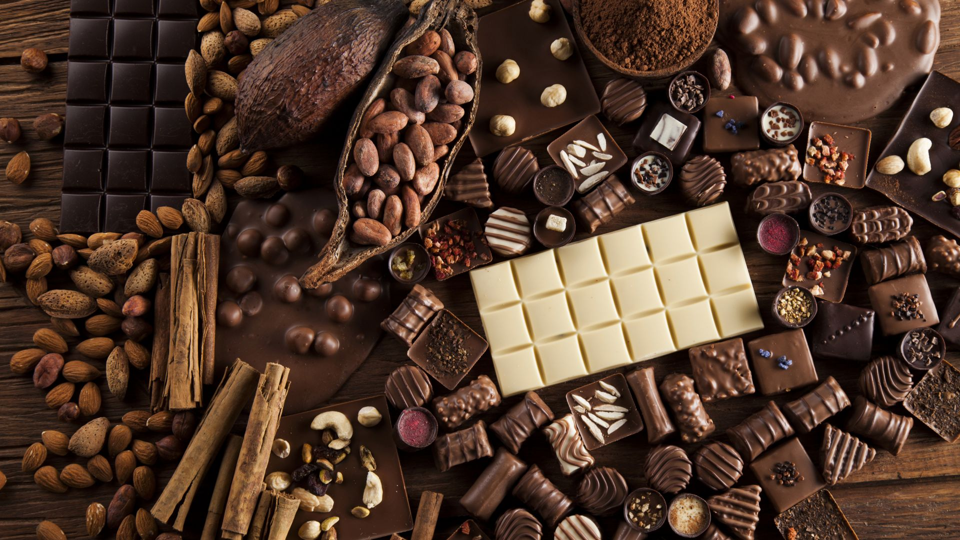 Wallpaper Chocolate Cocoa Delicious 5k Food 17848