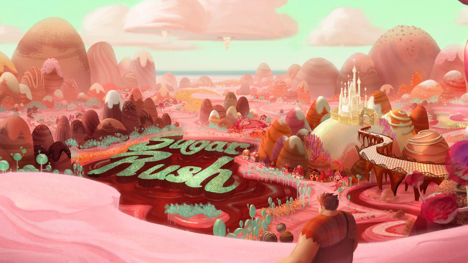 Wreck It Ralph Animation Movie 4k Hd Desktop Wallpaper For: Wallpaper Ralph Breaks The Internet: Wreck-It Ralph 2, 4k