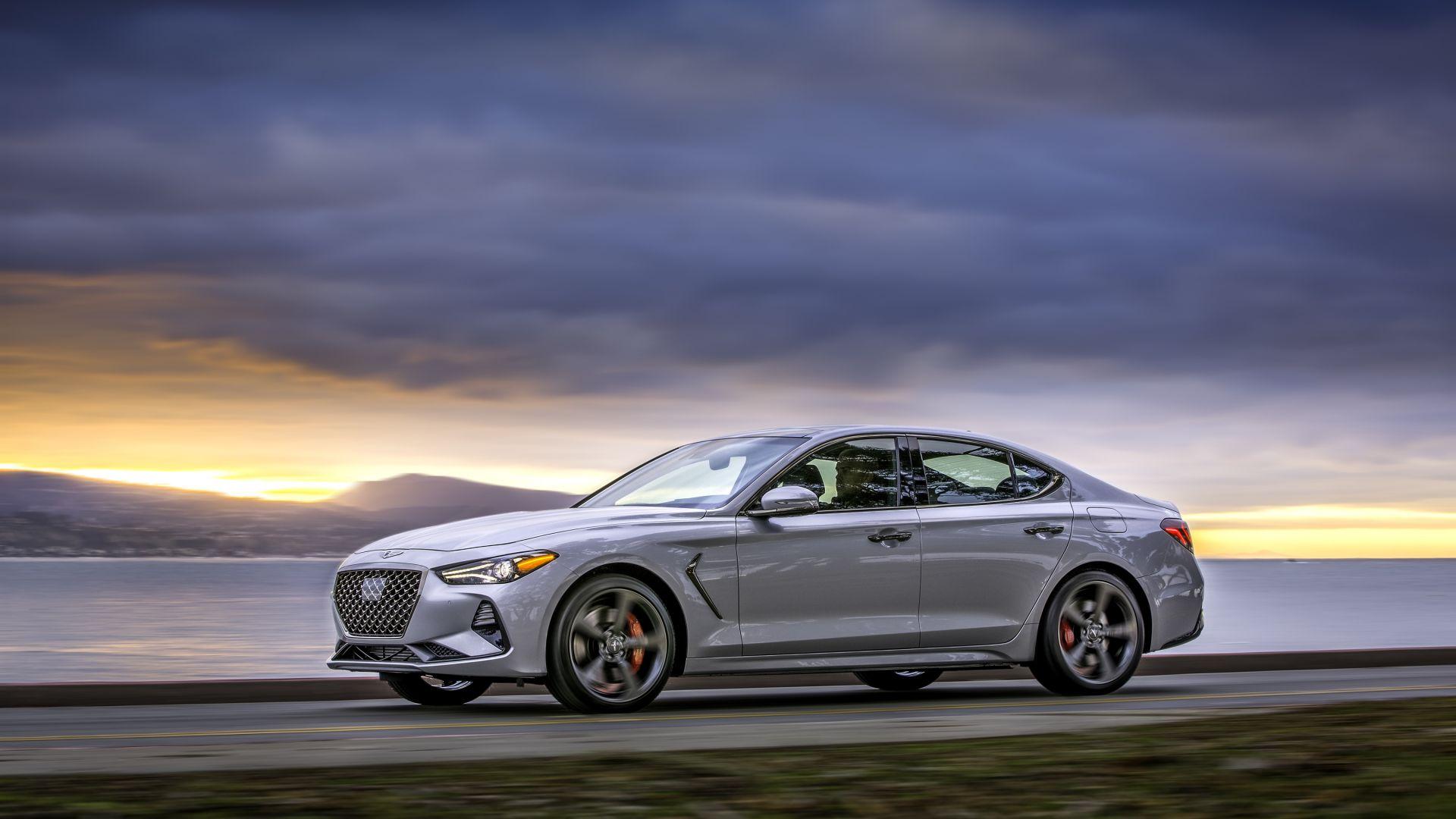 Luxury Cars 2019: Wallpaper Genesis G70, 2019 Cars, Luxury Cars, 4K, Cars