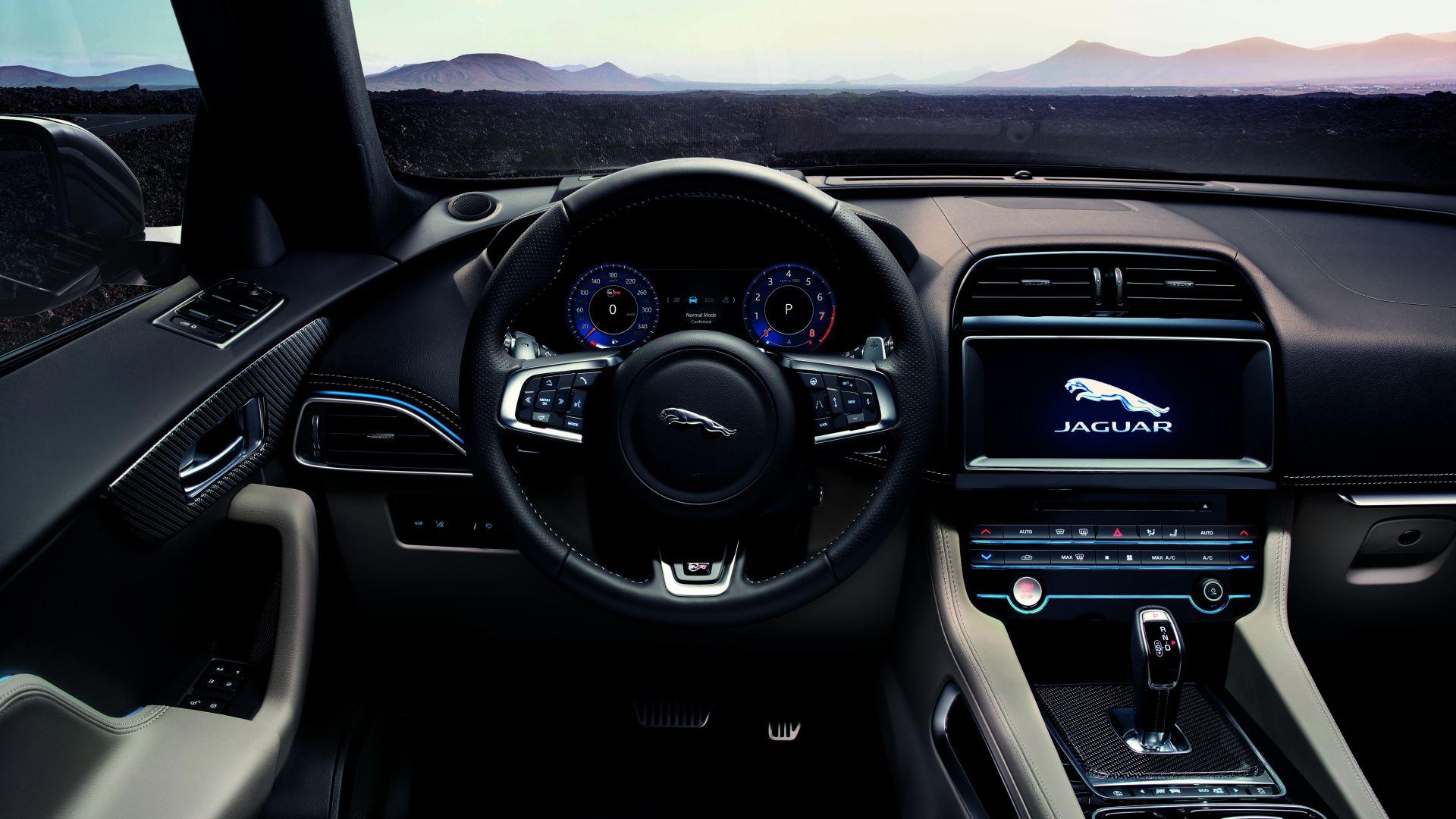 Wallpaper Jaguar F-Pace SVR, 2019 Cars, SUV, 4K, Cars ...