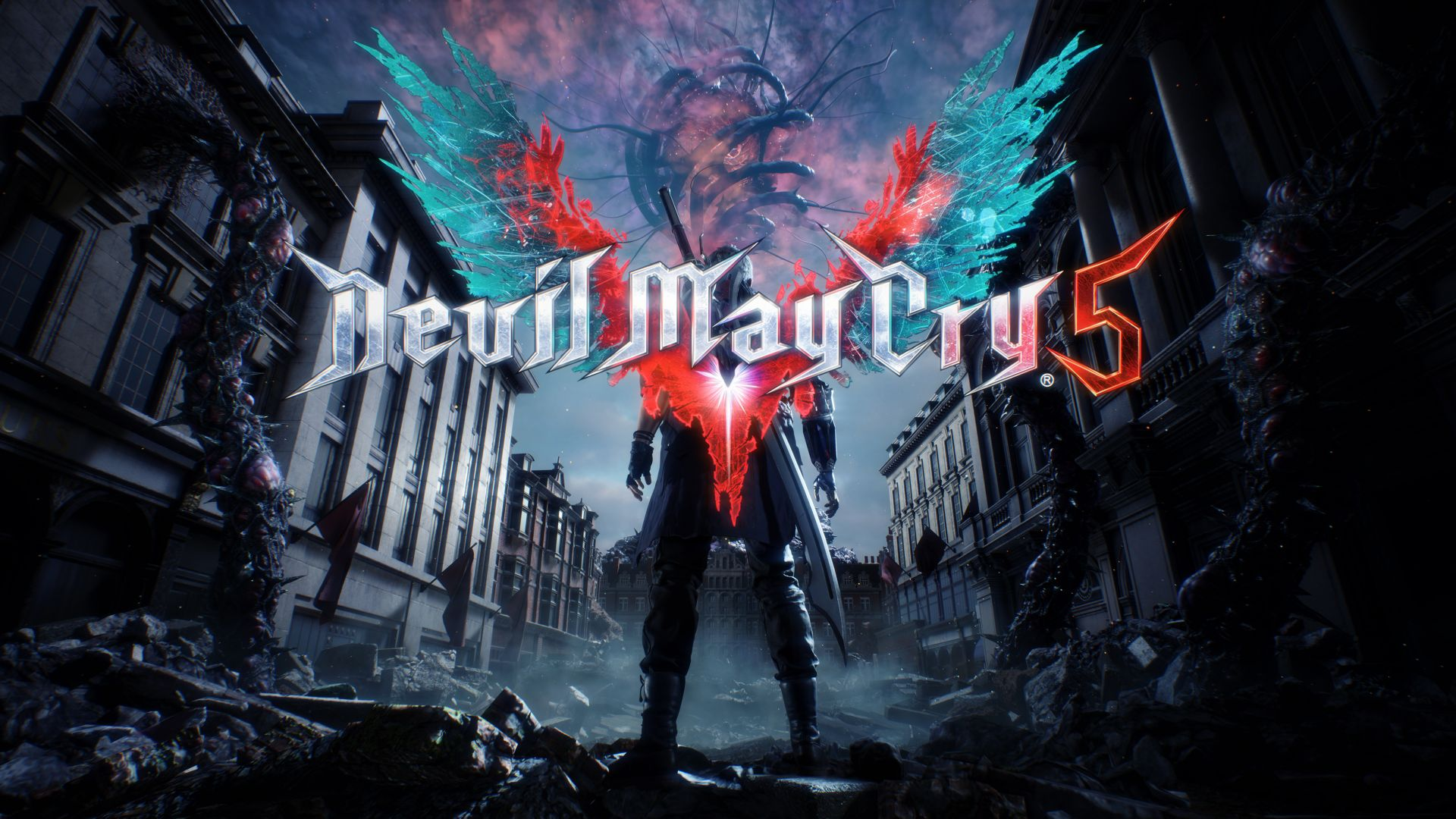 Wallpaper Devil May Cry 5, E3 2018, Poster, 4K, Games #18989