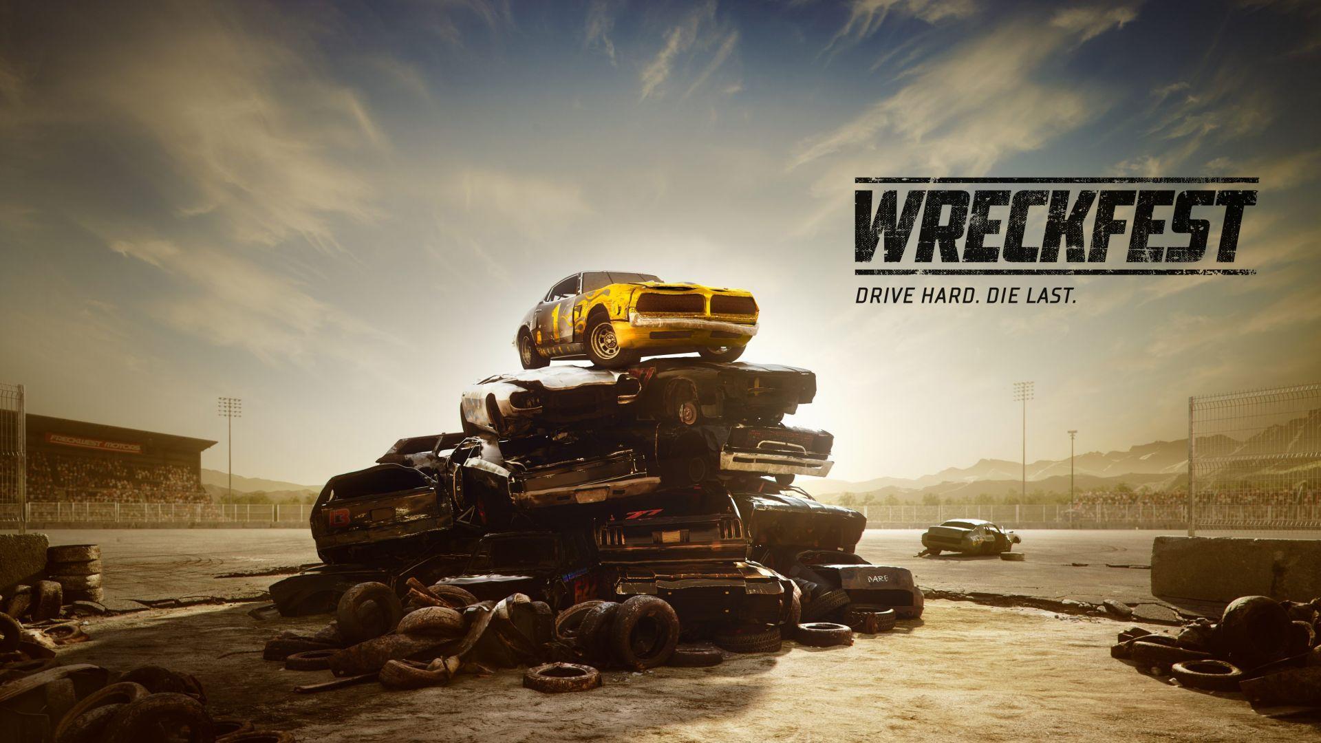 Wallpaper Wreckfest, Next Car Game, E3 2018, poster, 4K, Games 19220