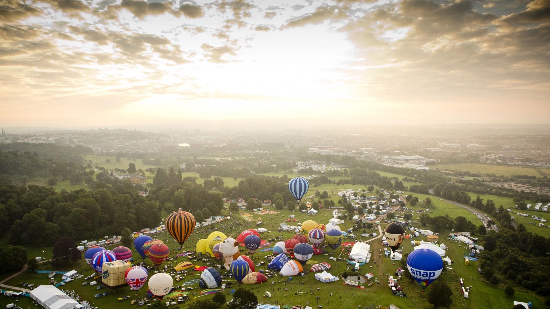 Wallpaper Albuquerque International Balloon Fiesta New