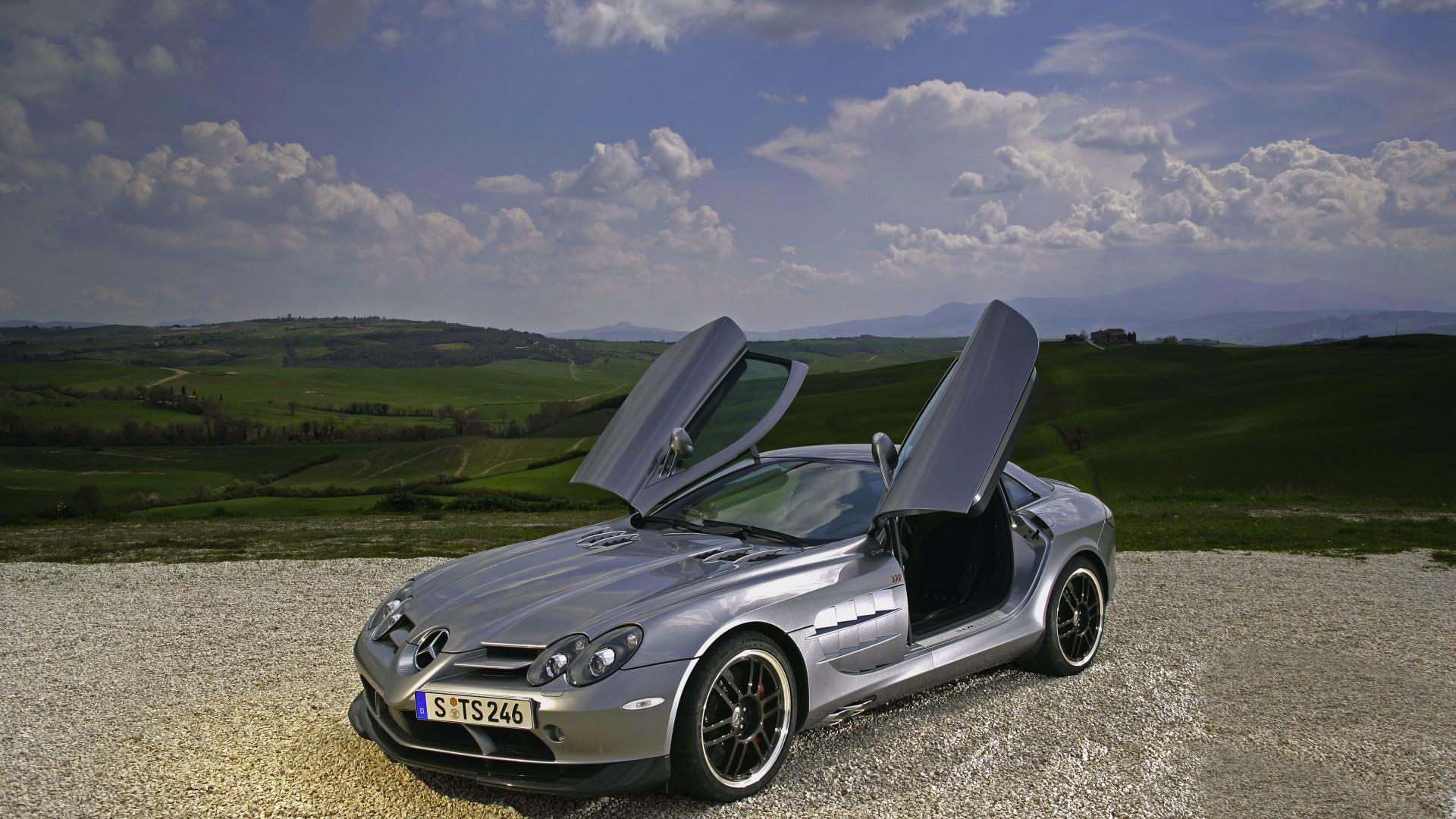 Wallpaper mercedes benz slr mclaren supercar mclaren for Mercedes benz luxury car