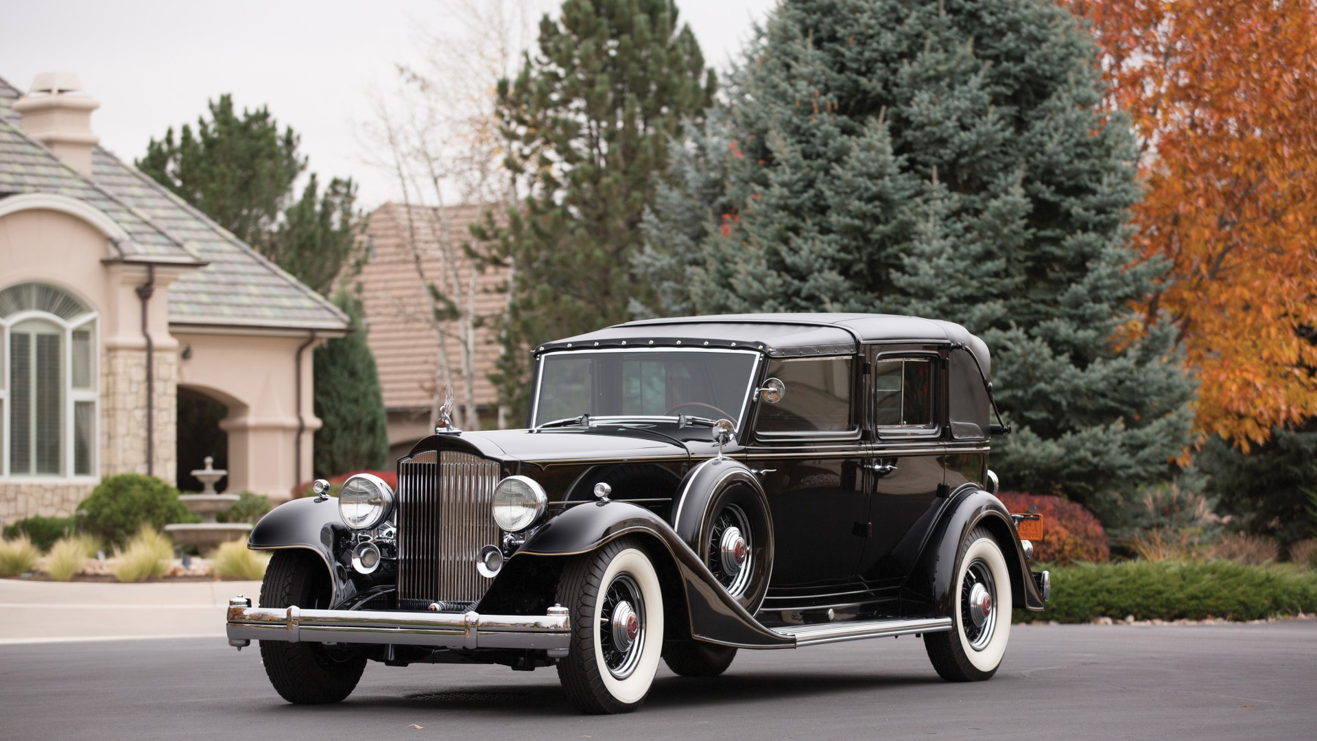 Wallpaper Packard Twelve, retro, Packard, classic cars, front ...