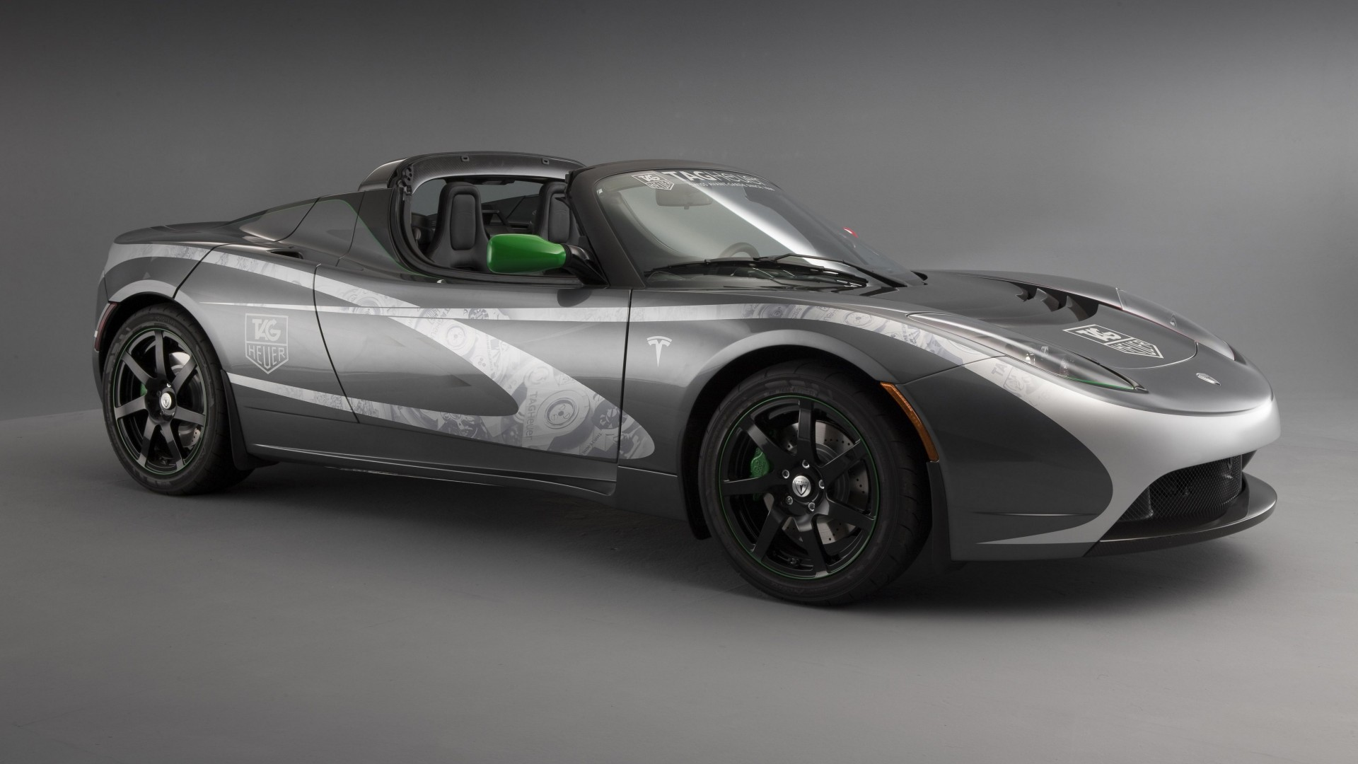 how to draw a tesla roadster