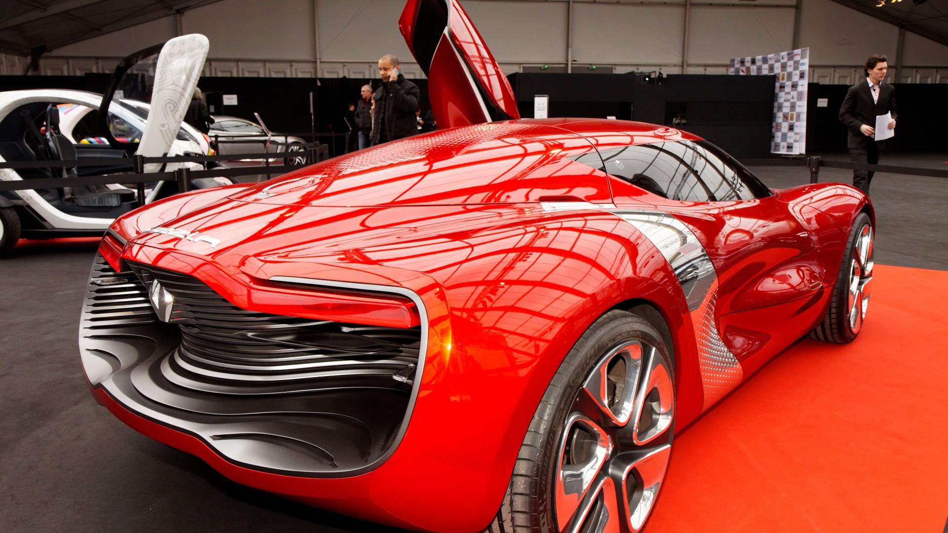 wallpaper renault dezir electric cars renault concept supercar sports car test drive. Black Bedroom Furniture Sets. Home Design Ideas