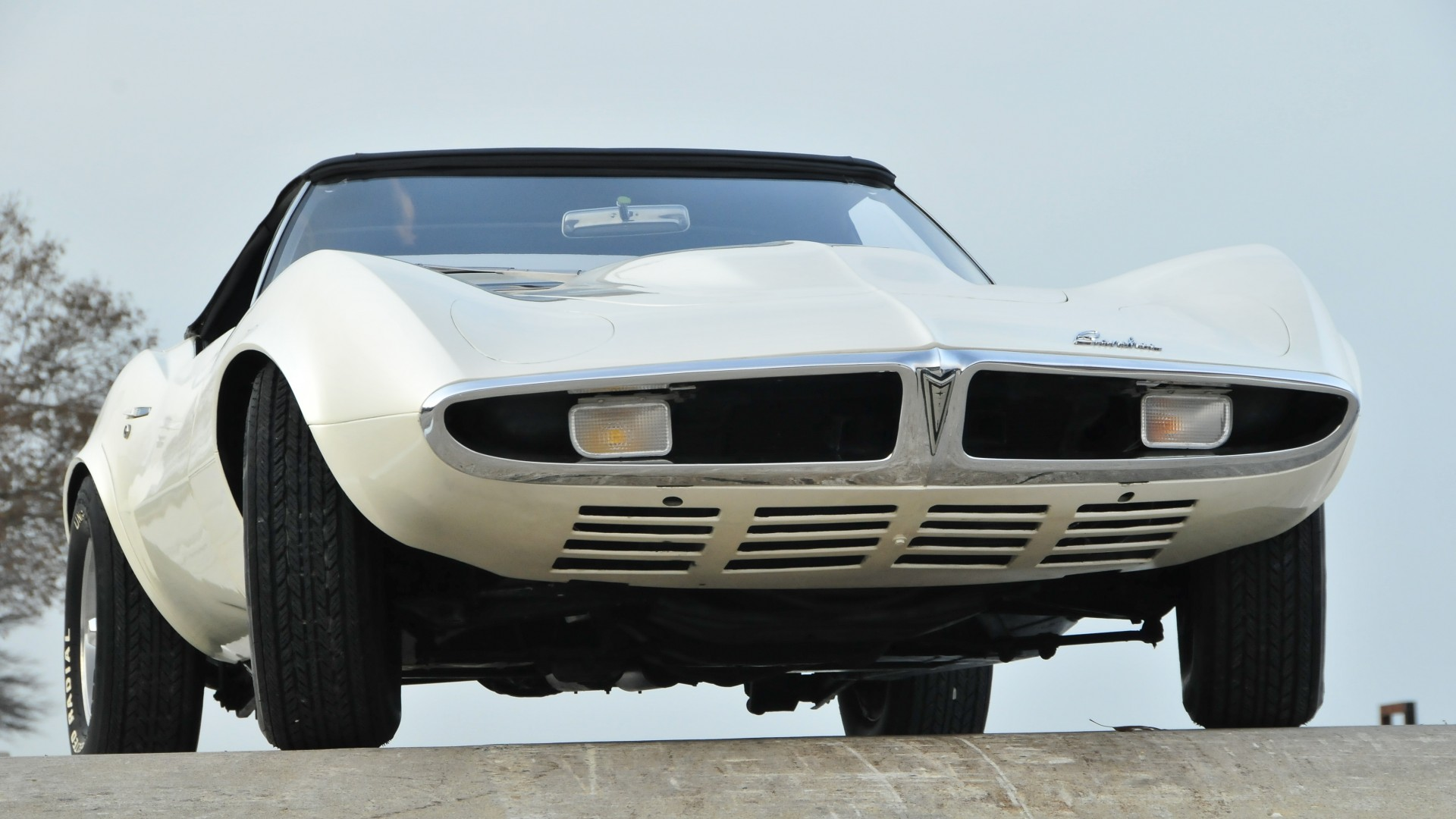 Wallpaper Pontiac Banshee, Classic Cars, Pontiac, Concept