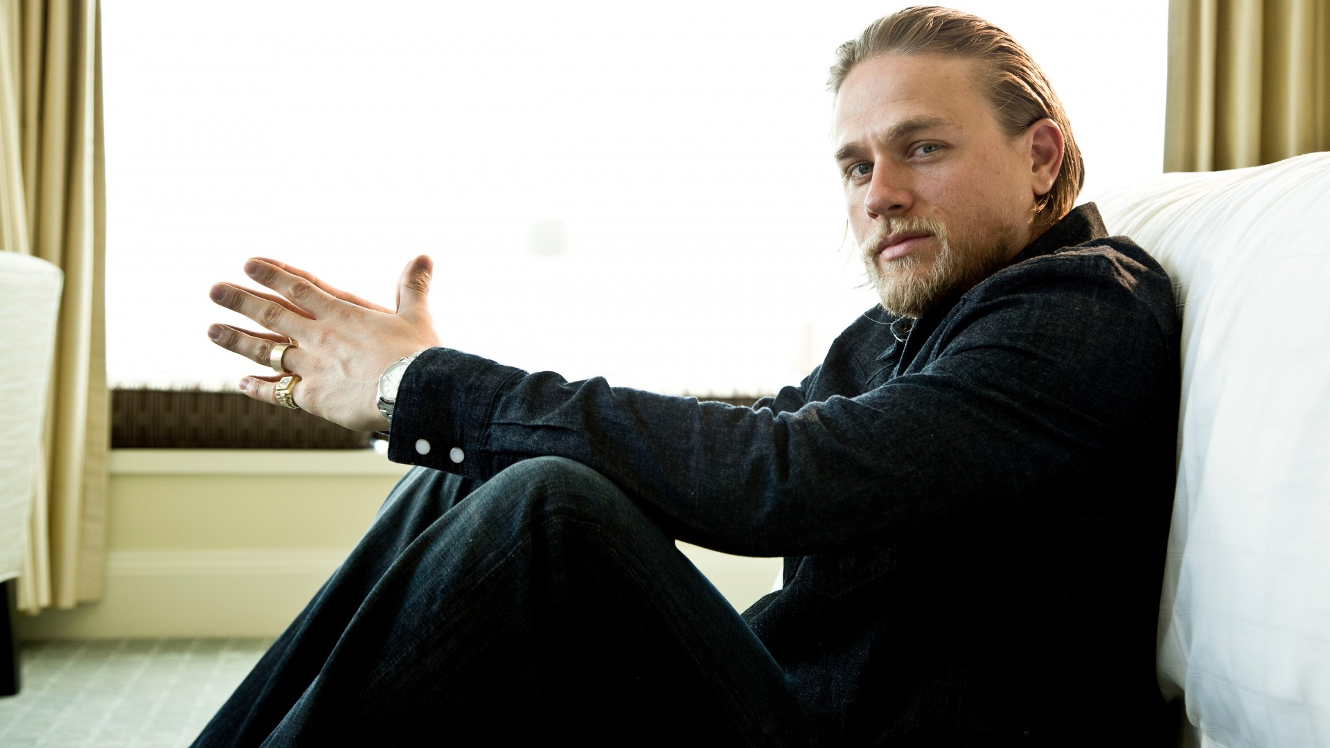 Hd Charlie Hunnam Wallpapers: Wallpaper Charlie Hunnam, Most Popular Celebs In 2015
