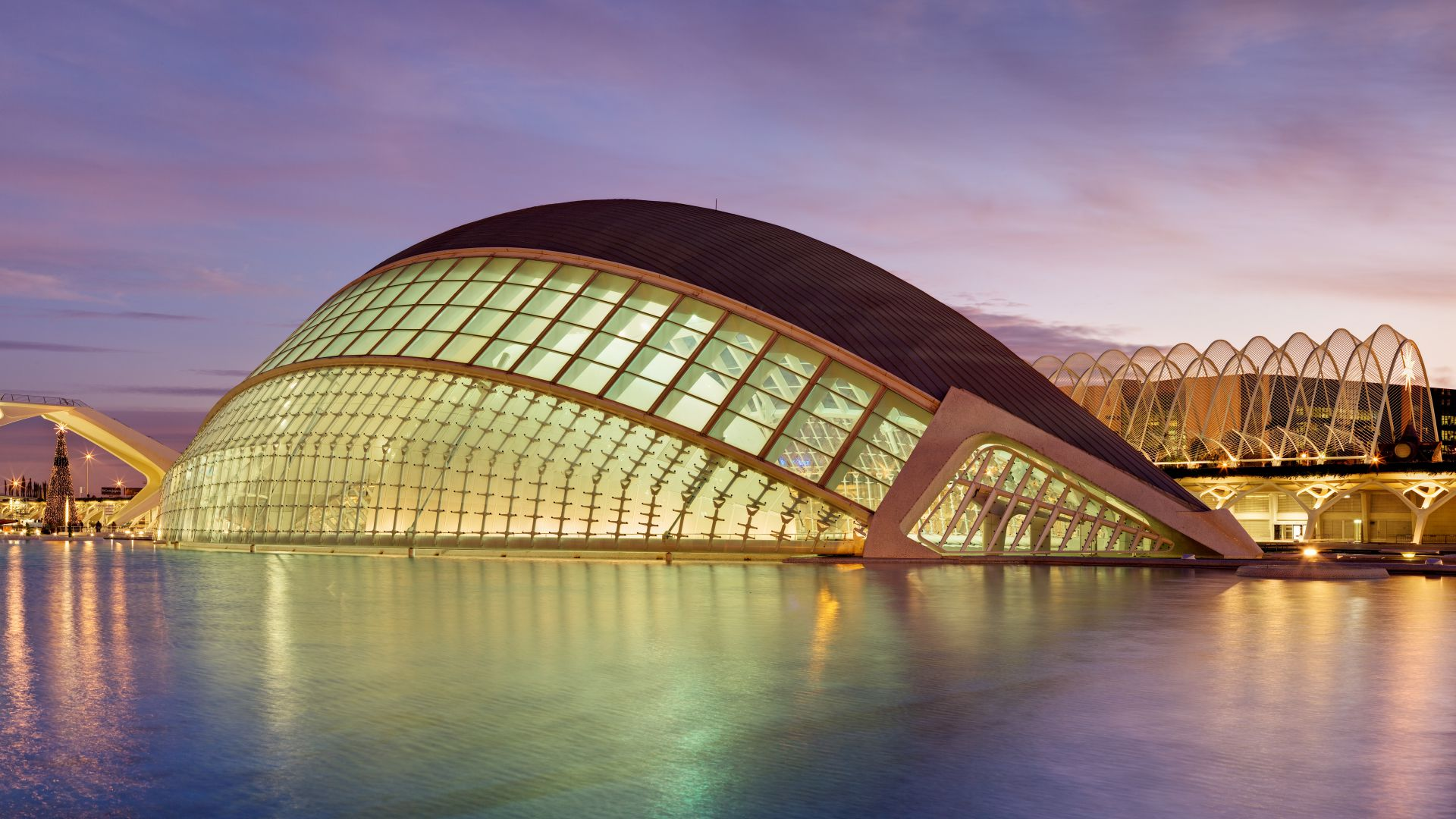 City of Arts and Sciences, planetarium, Valencian, Tourism, Travel (horizontal)