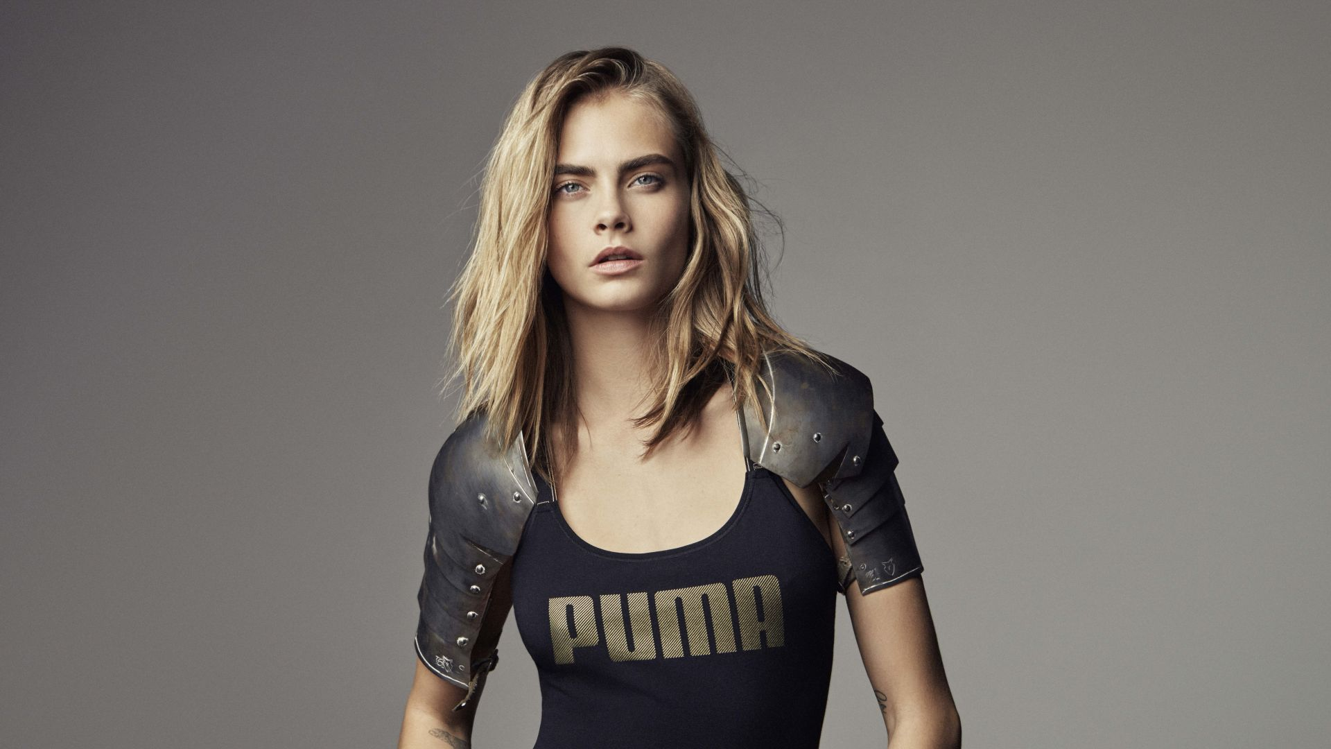 Cara Delevingne, Top Fashion Models, model, blonde (horizontal)