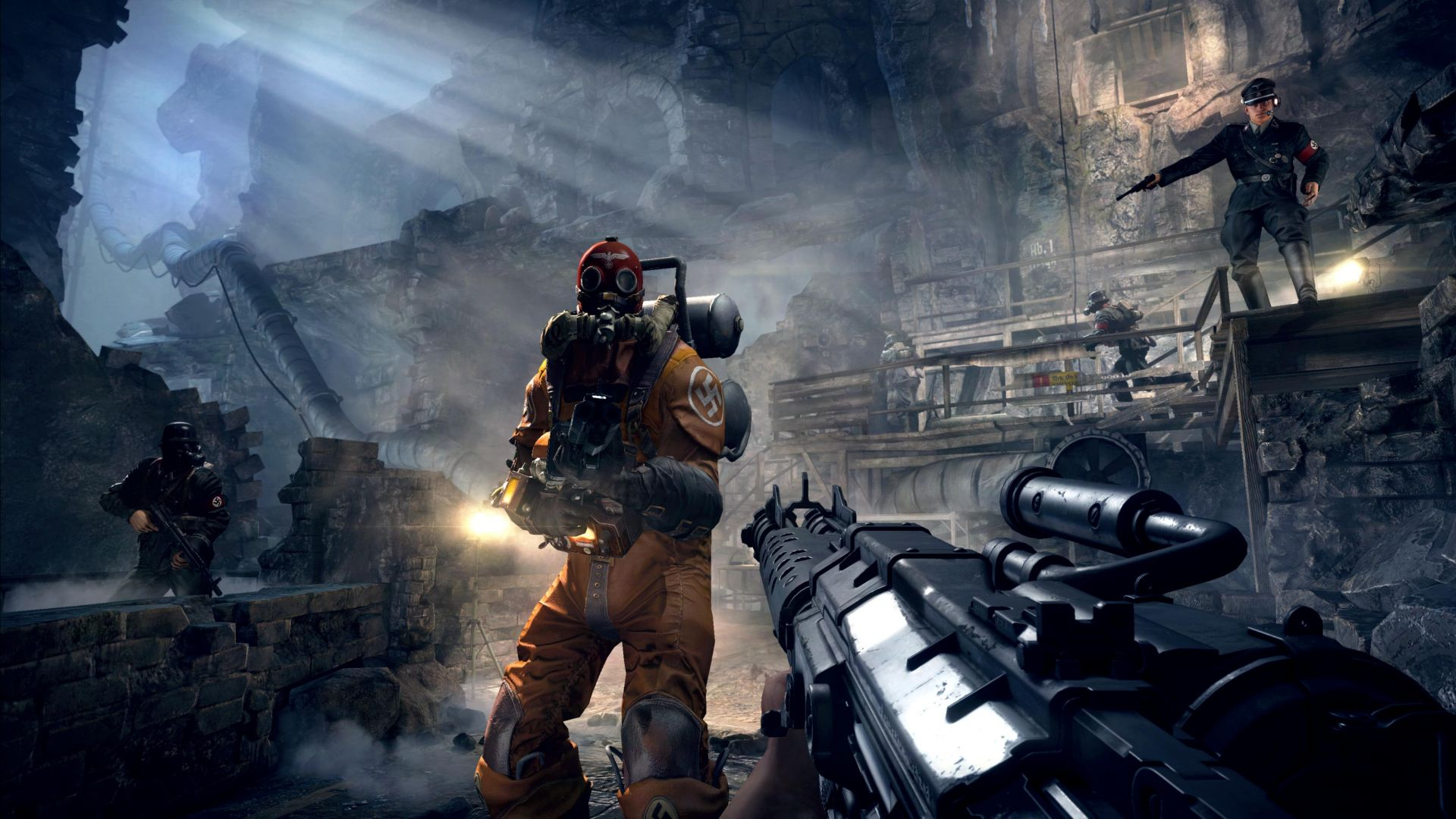 Wolfenstein: The Old Blood, Best Games 2015, game, shooter, sci-fi, fps, PC, PS4, Xbox one