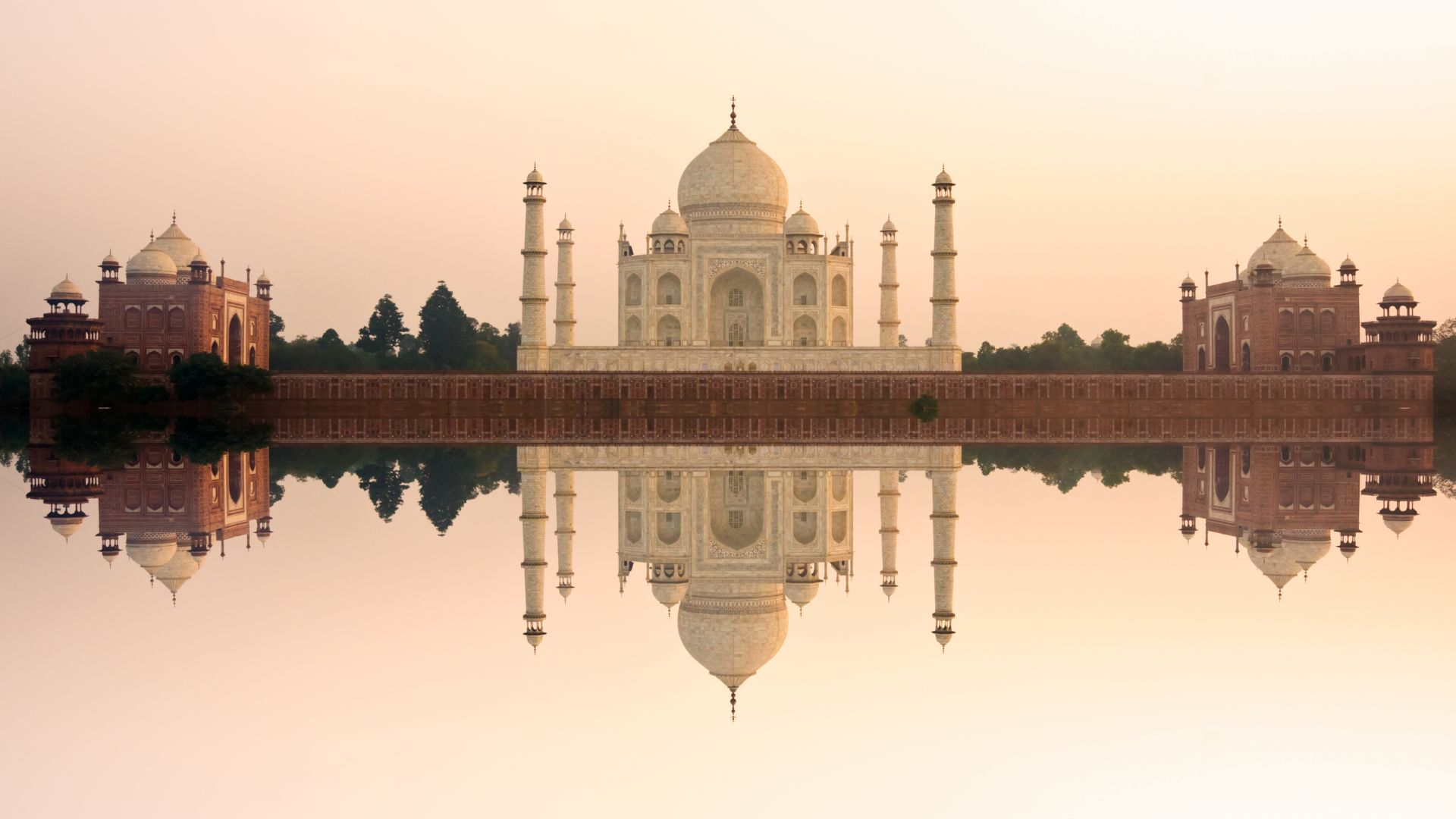 Taj Mahal, India, temple, castle, travel, tourism (horizontal)