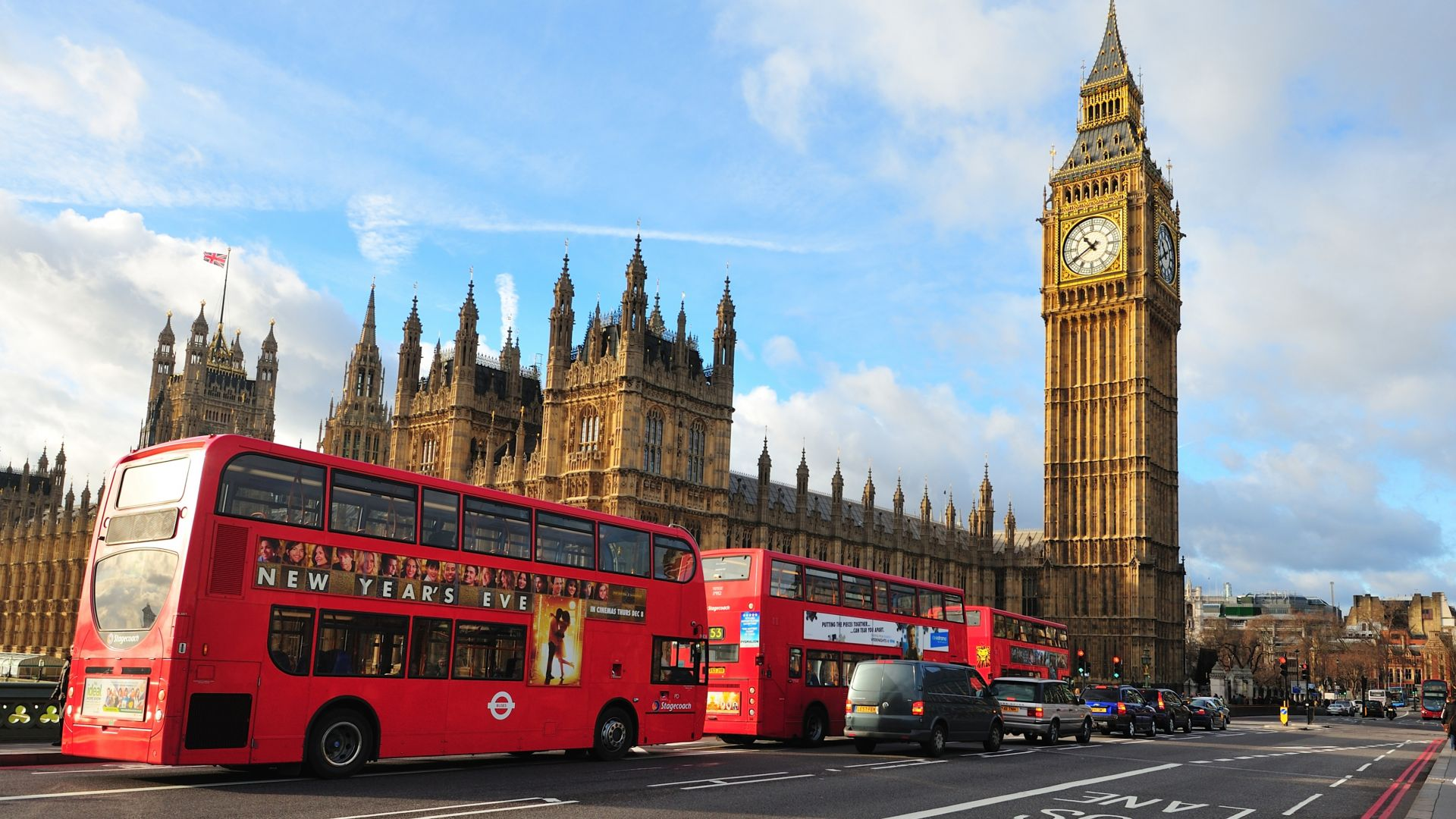 London, England, Big Ben, Westminster Abbey, city, bus, travel, tourism