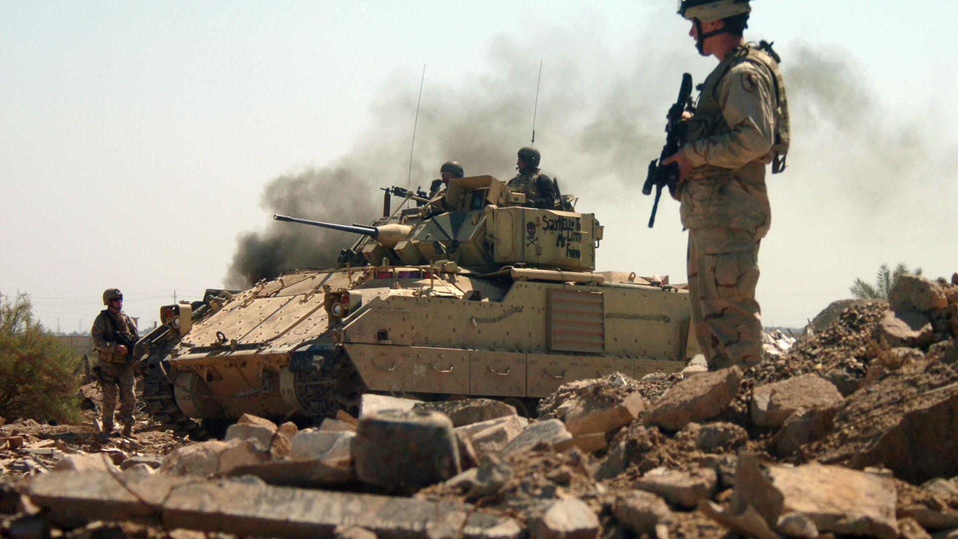 iraq military campaign essay