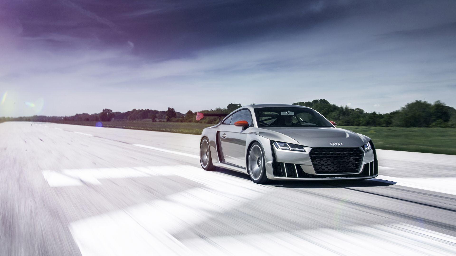 Wallpaper Audi Tt Clubsport Turbo Concept Audi Sports